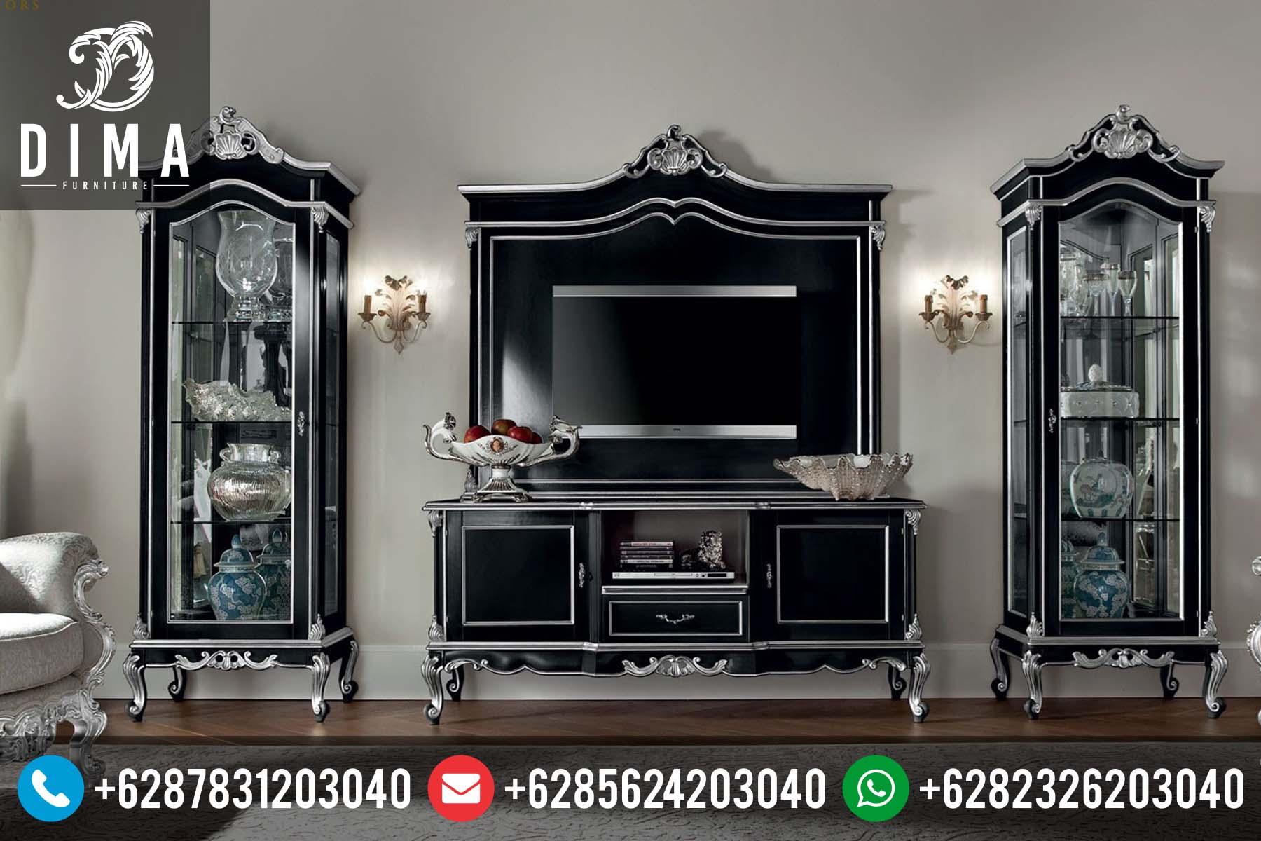 Bufet TV Minimalis Klasik Mewah Terbaru Duco Murah DF-0041