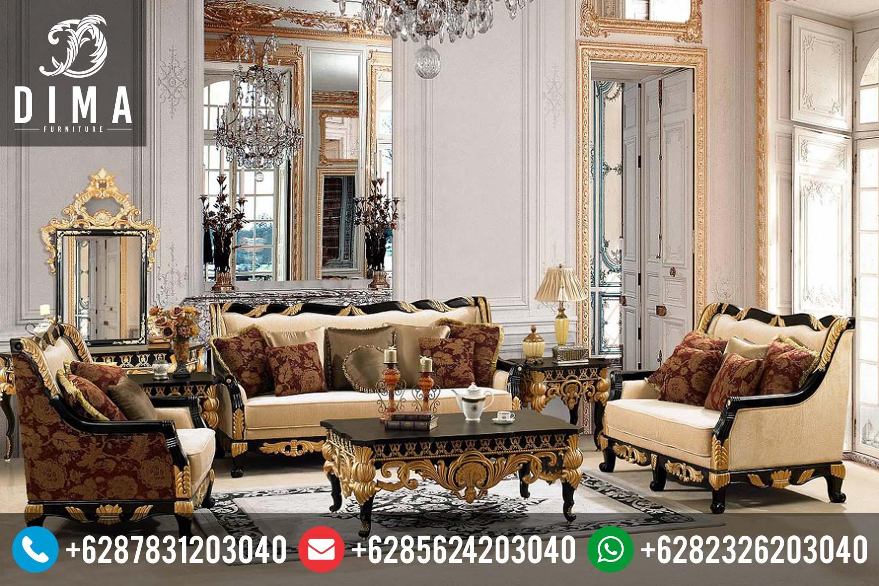 Modern Furniture Jepara kursi tamu jepara klasik ukiran mewah terbaru harga murah df-0055