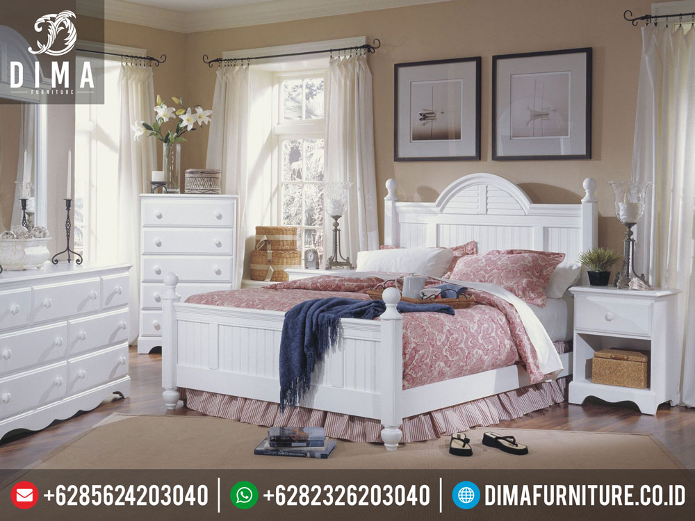 DF-0186 Set Kamar Tidur Minimalis Duco Mewah Terbaru Adele