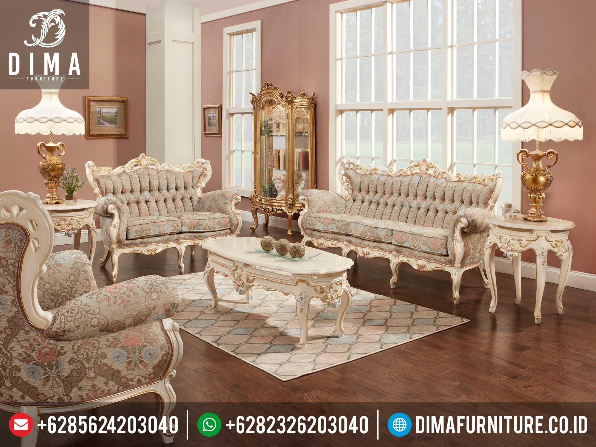 Mebel Ukir Jepara Terbaru 2016 Kursi Sofa Ruang Tamu Mewah Murah Tupelo DF-0120