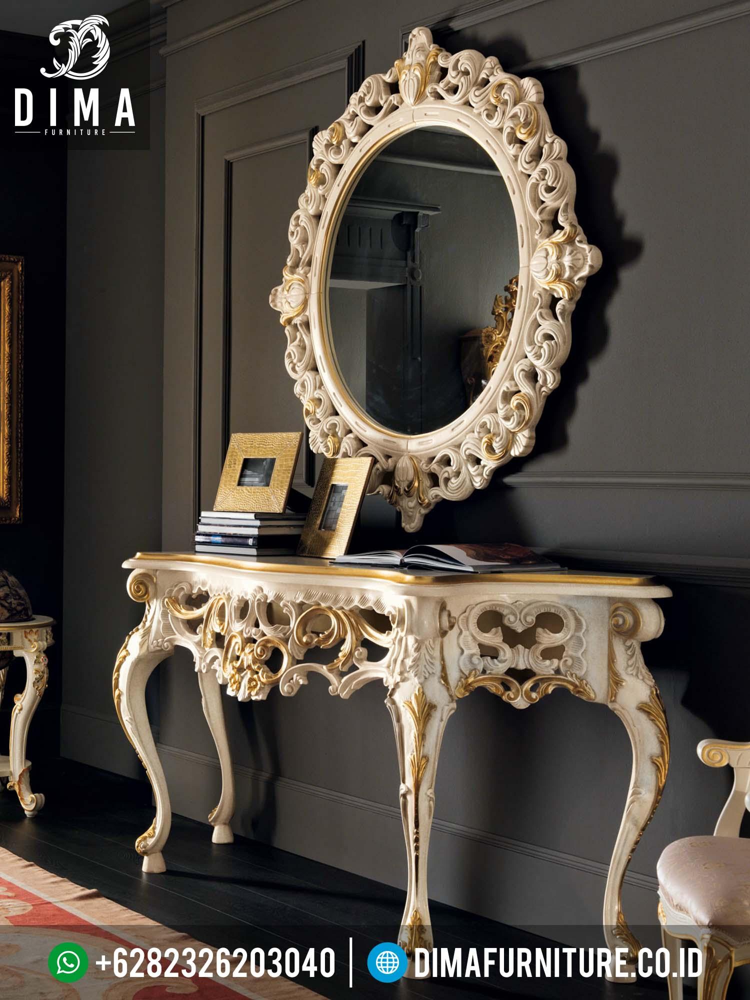 Meja Hias Dinding Atau Meja Konsol Dengan Mirror Klasik Mewah Murah Terbaru 2016 DF-0116