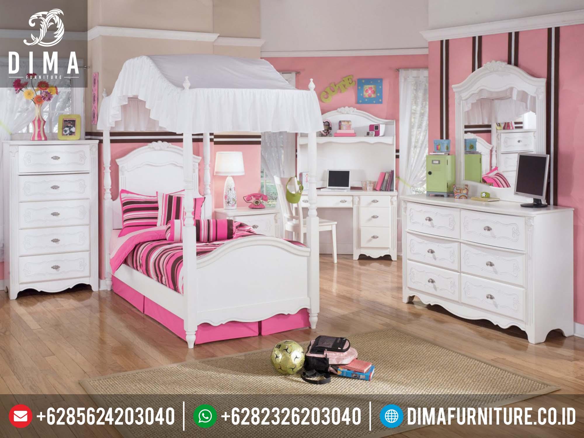 Set Kamar Tidur Anak Minimalis, Tempat Tidur Anak Tingkat, Kamar Anak Minimalis Jepara DF-0137