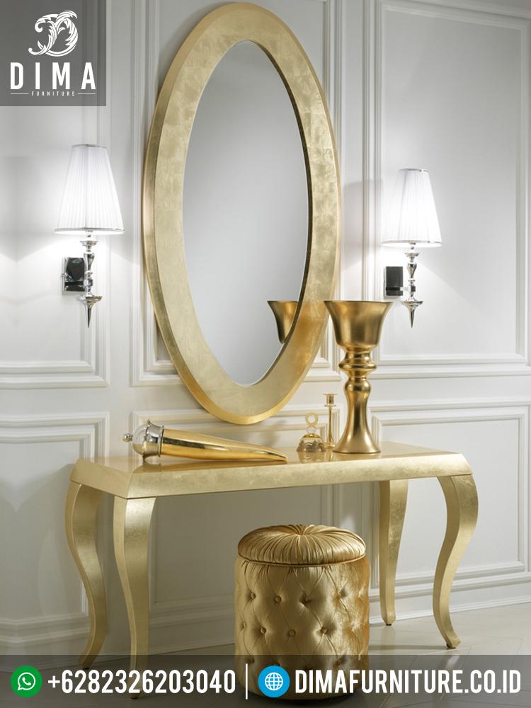 Meja Konsol Dan Mirror, Mebel Jepara Terbaru, Cermin Hias Dinding DF-0332