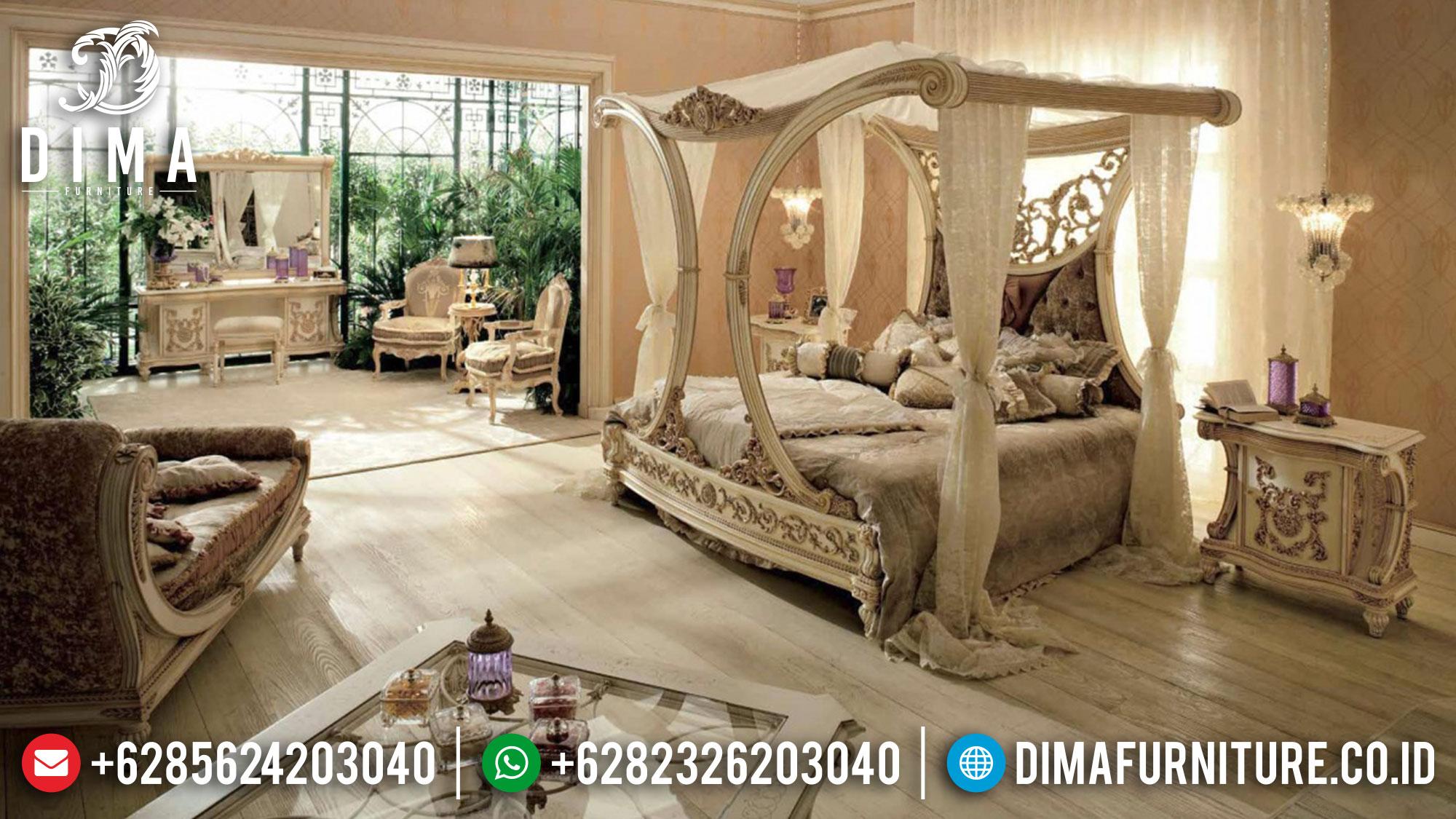 Kamar Set Mewah Raffles, Tempat Tidur Jepara, Set Kamar Tidur Terbaru DF-0336