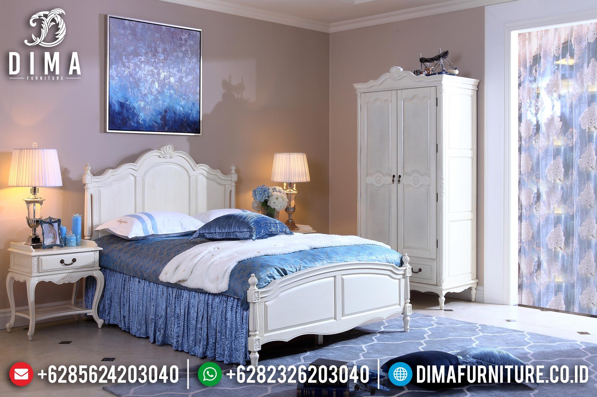 Mebel Jepara Set Tempat Tidur Minimalis Mewah Terbaru DF-0343