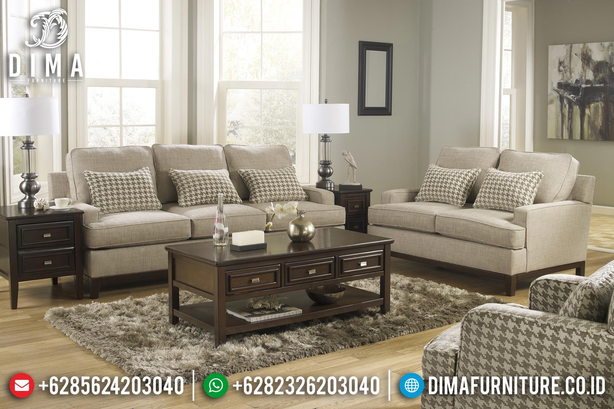 Mebel Jepara Terbaru Set Sofa Tamu Minimalis Mewah DF-0334