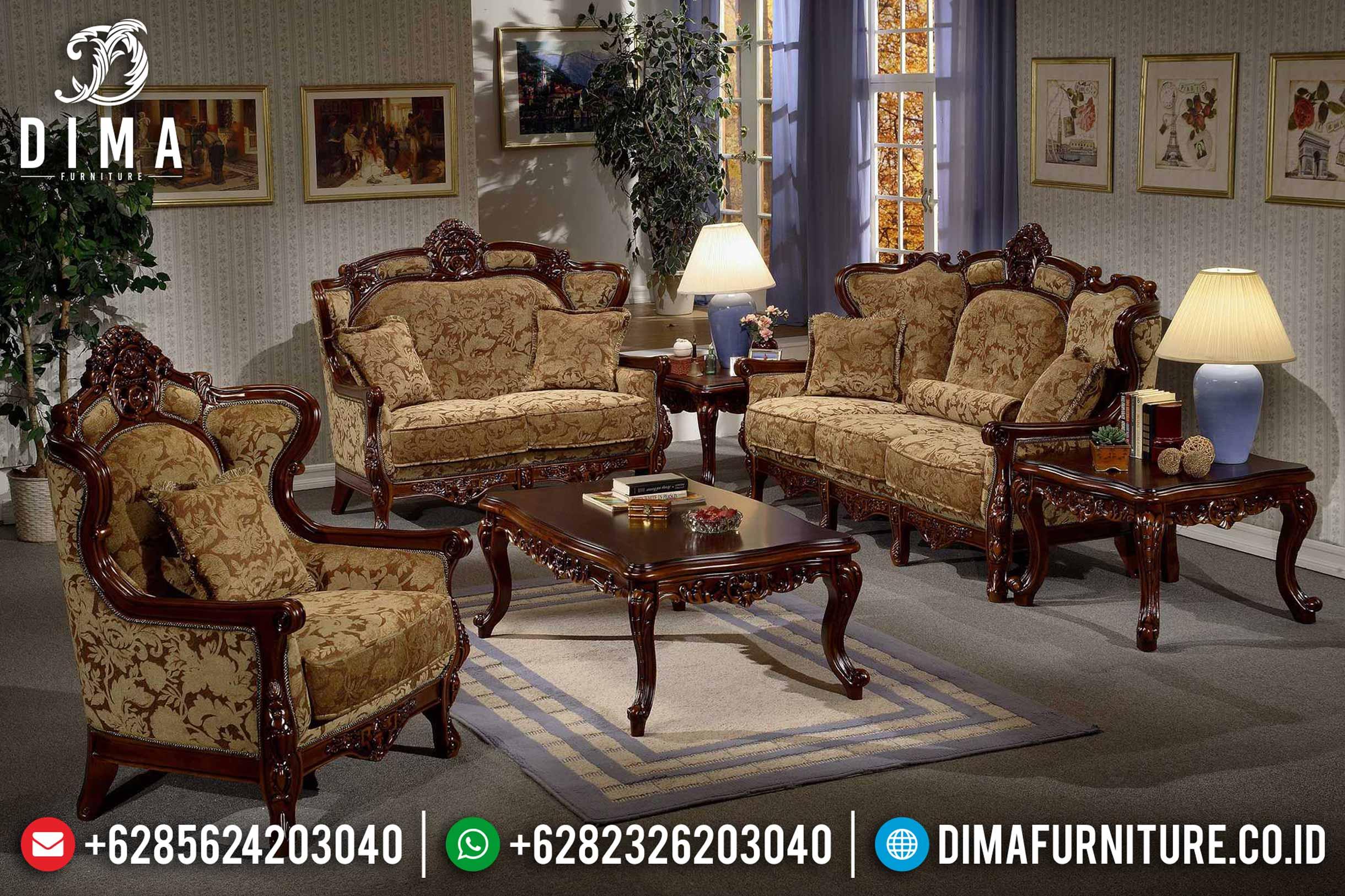 Sofa Tamu Jepara Mewah Minimalis Terbaru 06 Dima Furniture Jepara