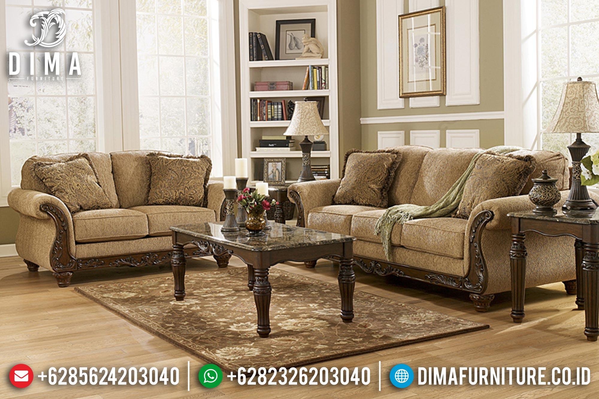 Sofa Tamu Jepara Mewah Minimalis Terbaru 14 Dima Furniture Jepara