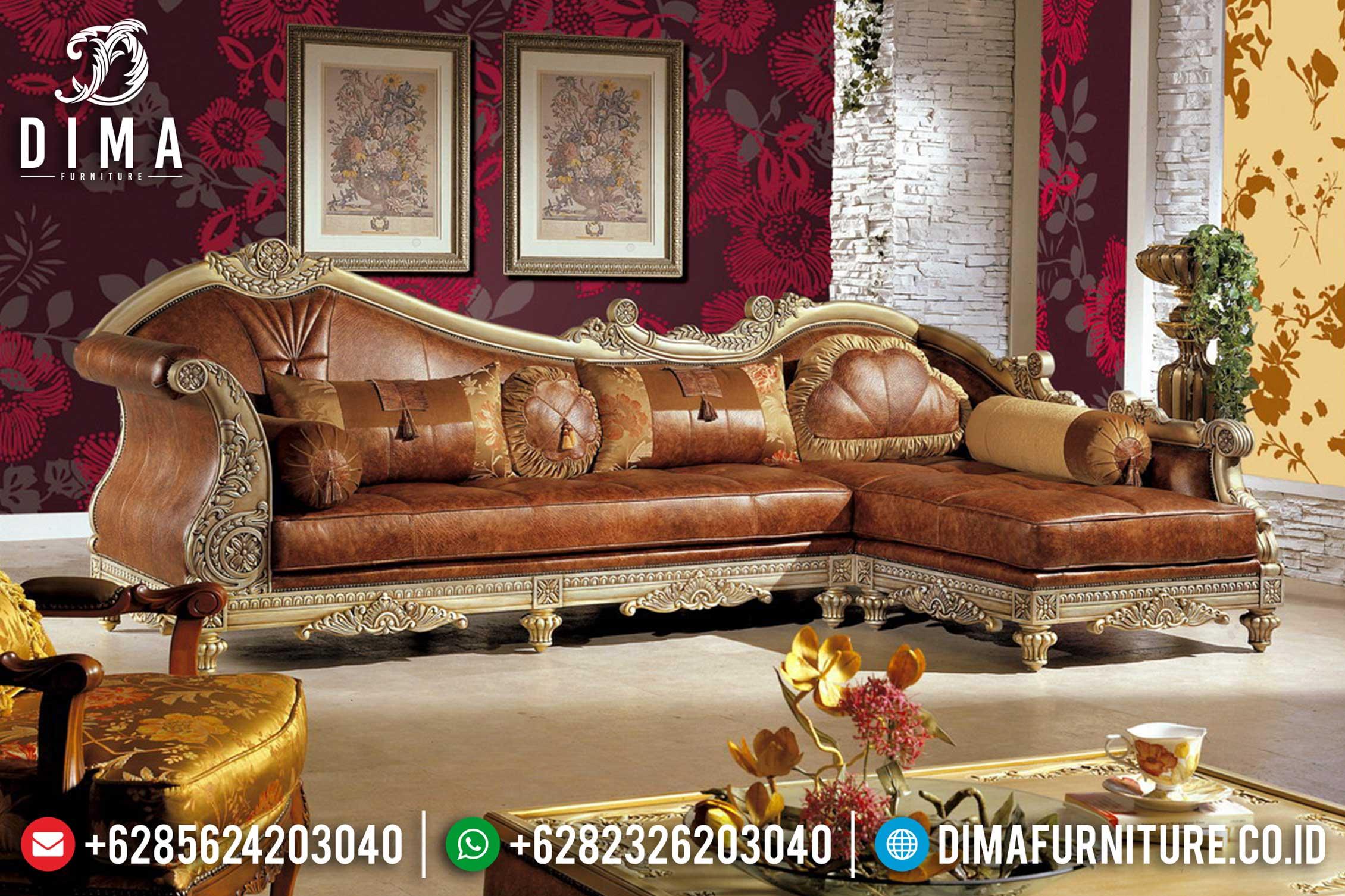 Sofa Tamu Jepara Mewah Minimalis Terbaru 15 Dima Furniture Jepara