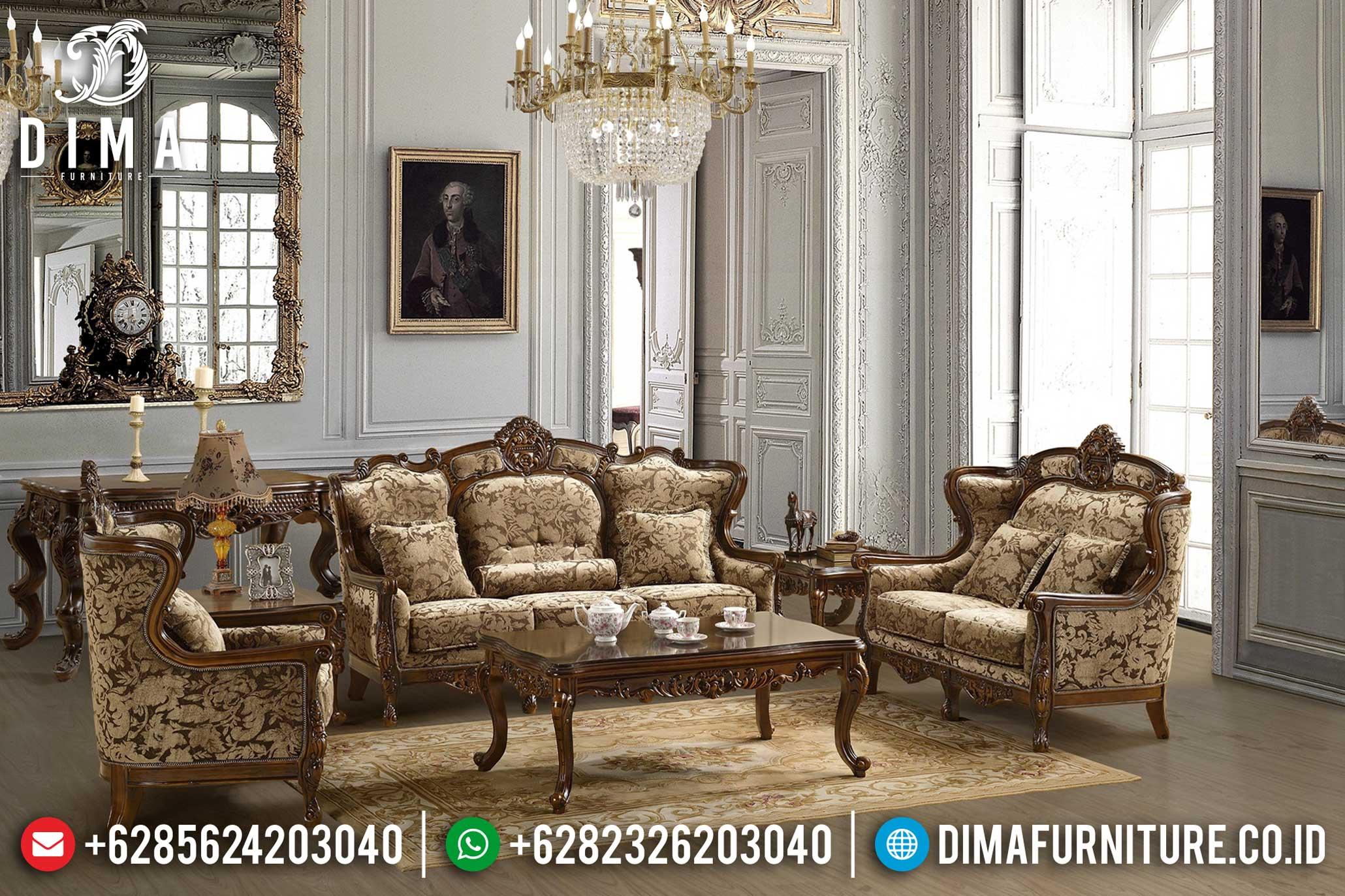 Sofa Tamu Jepara Mewah Minimalis Terbaru 16 Dima Furniture Jepara