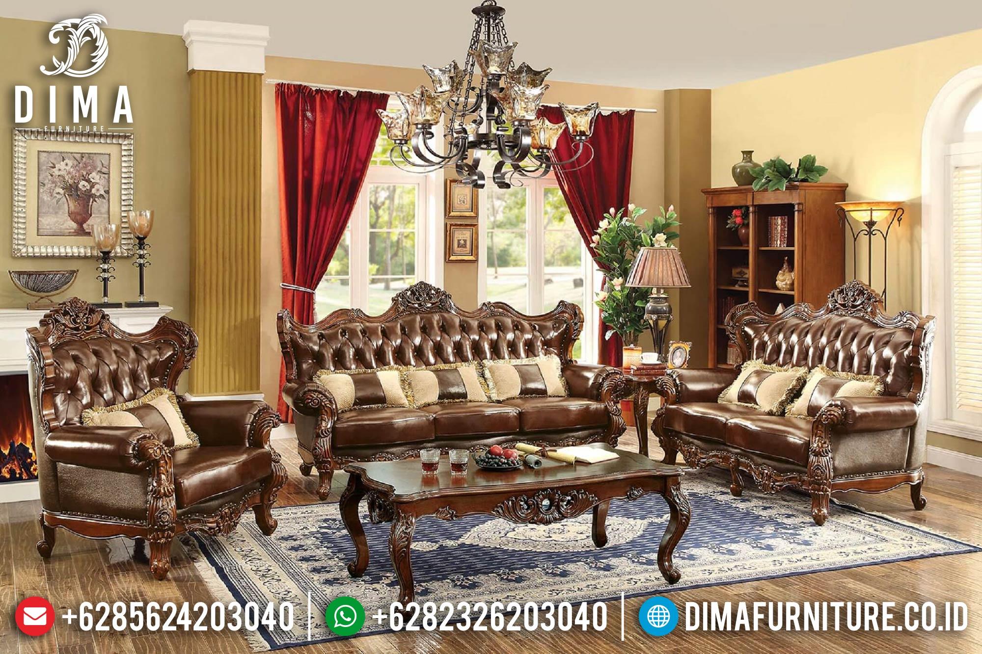 Sofa Tamu Jepara Mewah Minimalis Terbaru 19 Dima Furniture Jepara