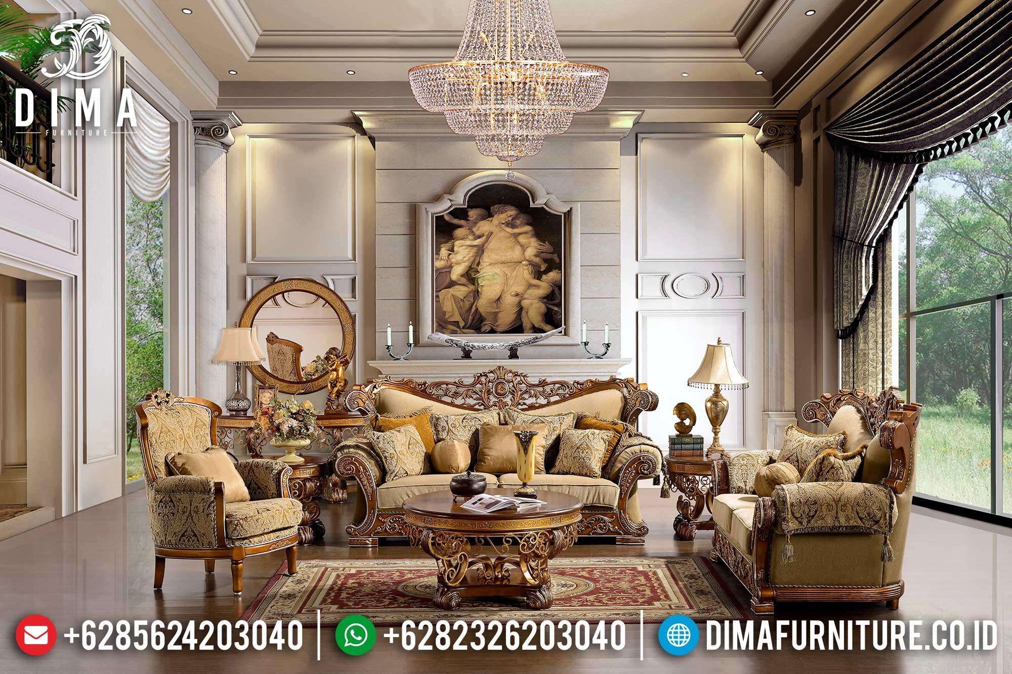 Sofa Tamu Jepara Mewah Minimalis Terbaru 20 Dima Furniture Jepara