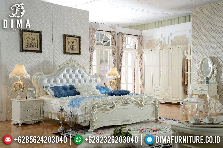 Kamar Tidur Set Mewah Jepara Terbaru Royal European Style DF-0385