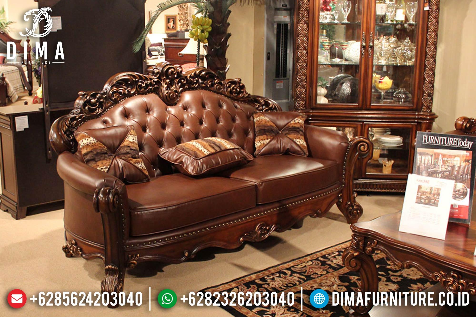 Kursi Sofa Tamu Jepara Set Mewah Terbaru Klasik Royals DF-0386 Gambar 2