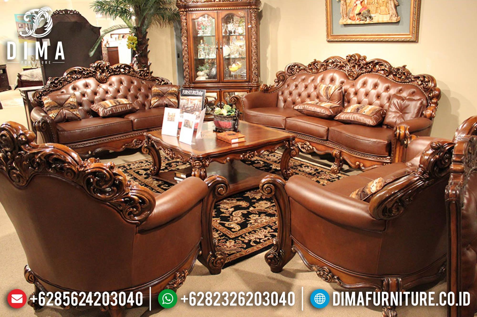 Kursi Sofa Tamu Jepara Set Mewah Terbaru Klasik Royals DF-0386