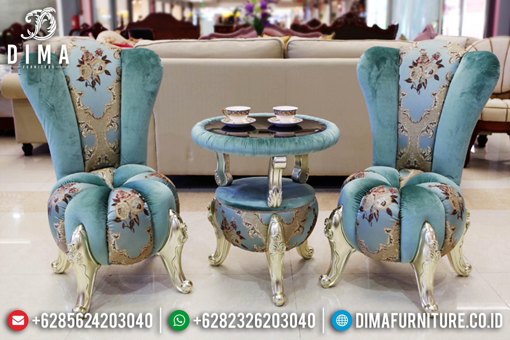 Kursi Sofa Teras Minimalis Mewah Jepara Terbaru Seri Labuh DF-0387