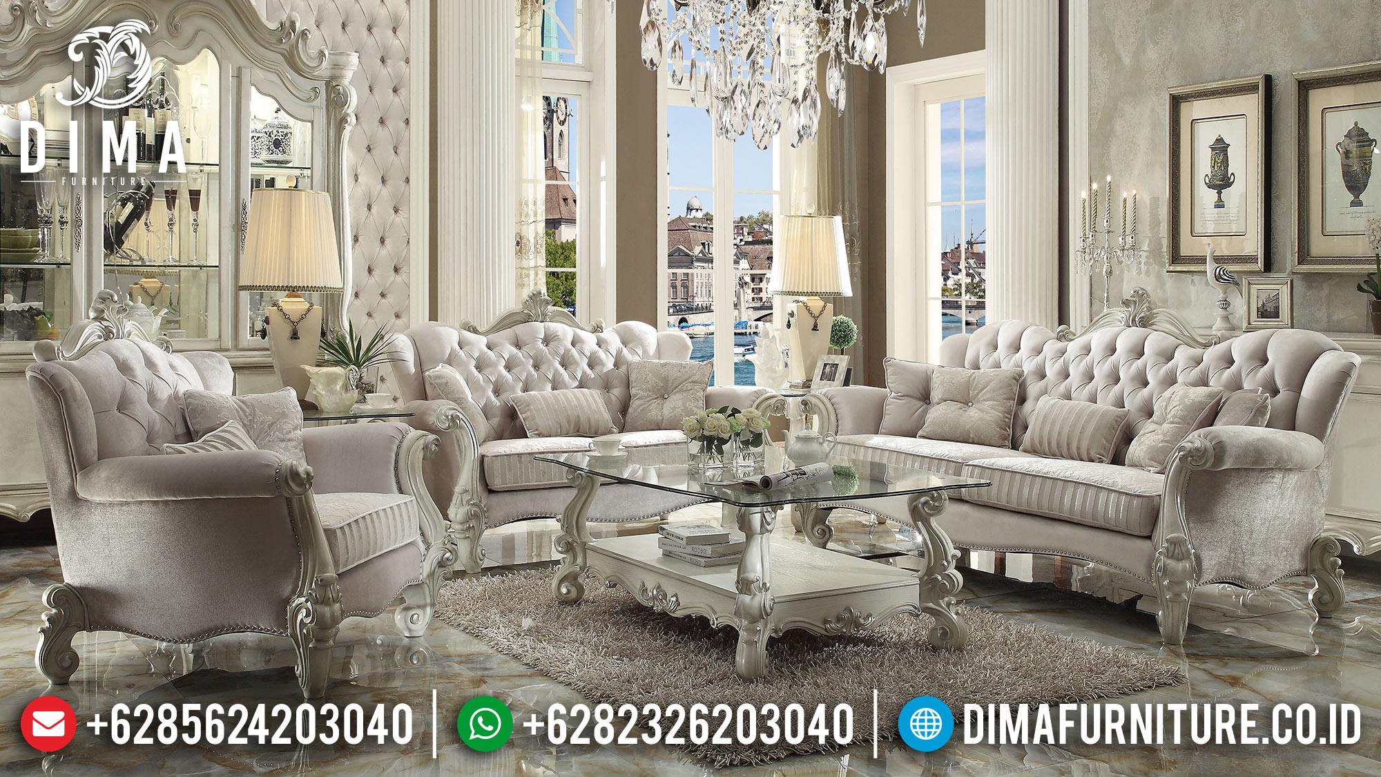 Kursi Tamu Mewah Jepara, Sofa Terbaru Jepara, Sofa Ruang Tamu Mewah DF-0473