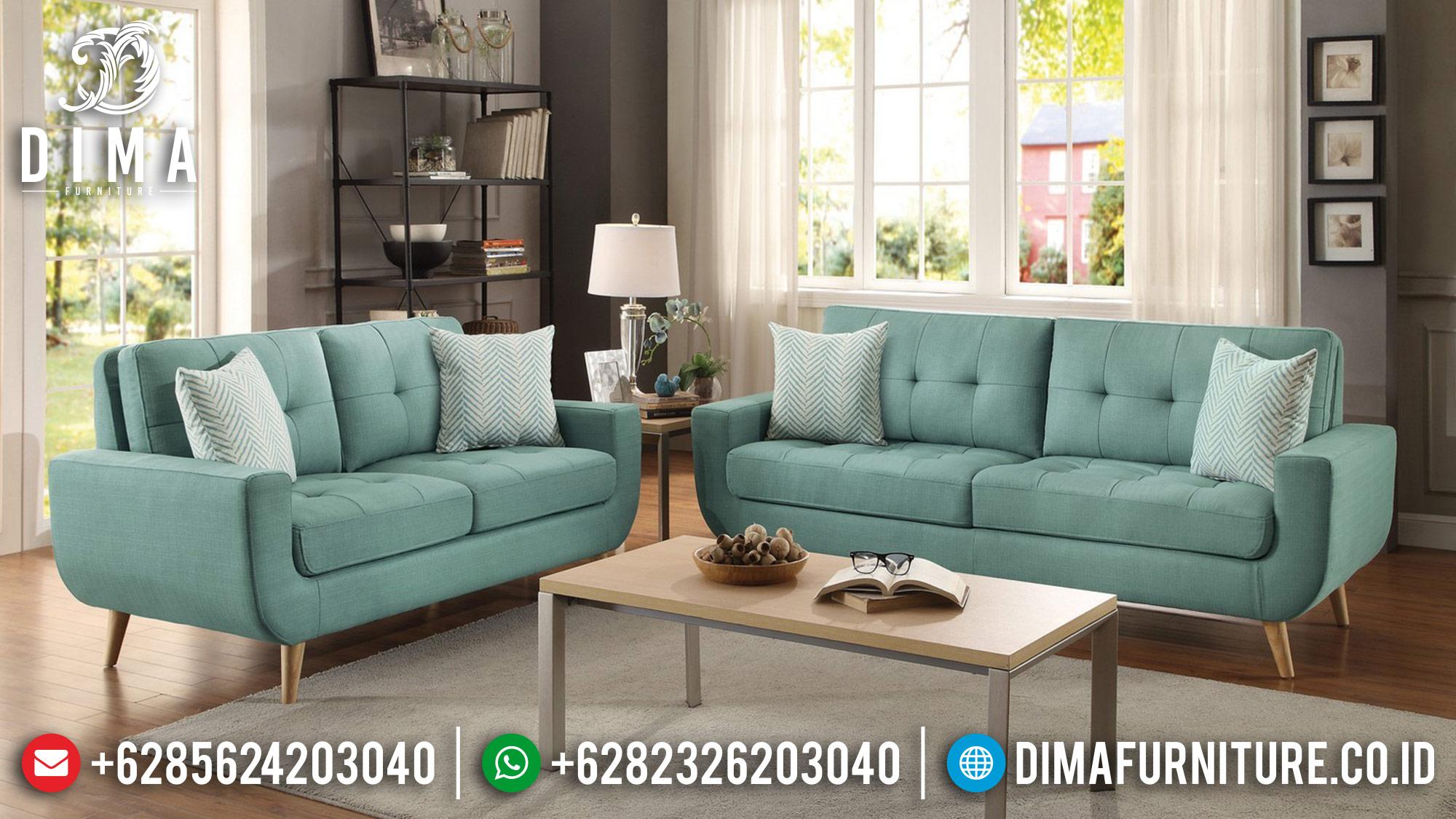 Sofa Mewah Minimalis, Sofa Jepara Terbaru, Kursi Tamu Minimalis Modern DF-0481 Gambar 1