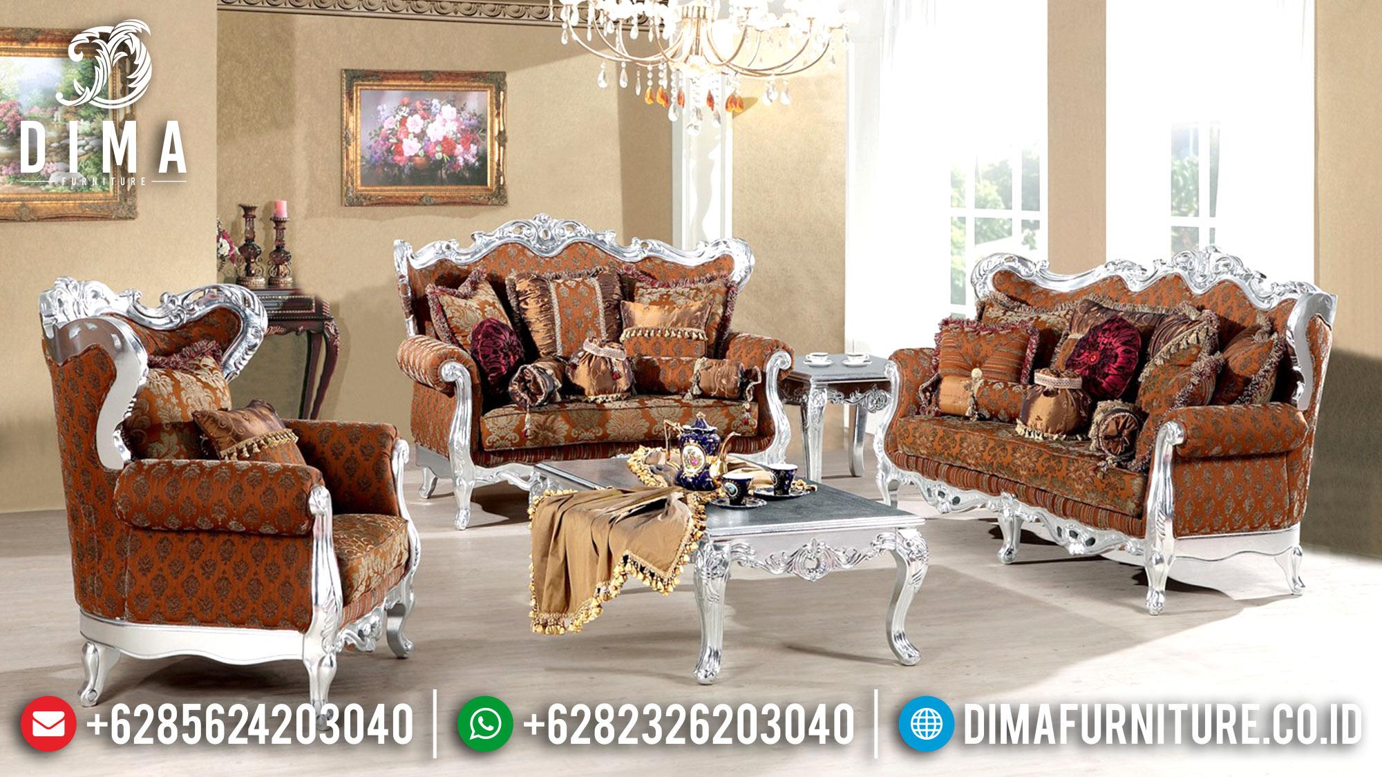 Sofa Tamu Jepara Mewah Klasik Terbaru Duco Silver Seri Rahma DF-0486
