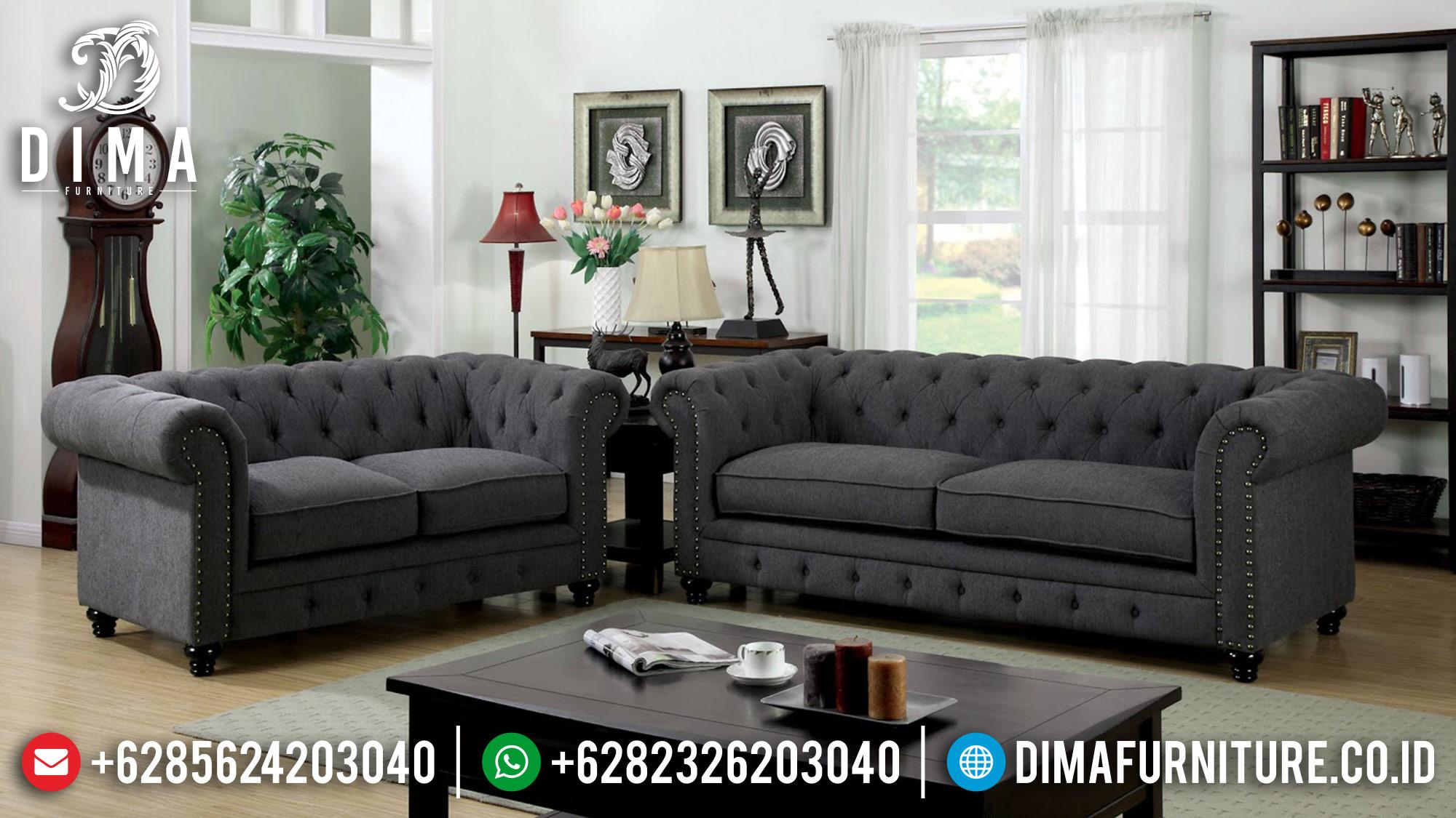 Sofa Tamu Mewah Terbaru, Kursi Tamu Mewah Jepara, Sofa Terbaru Minimalis DF-0478 Gambar 2