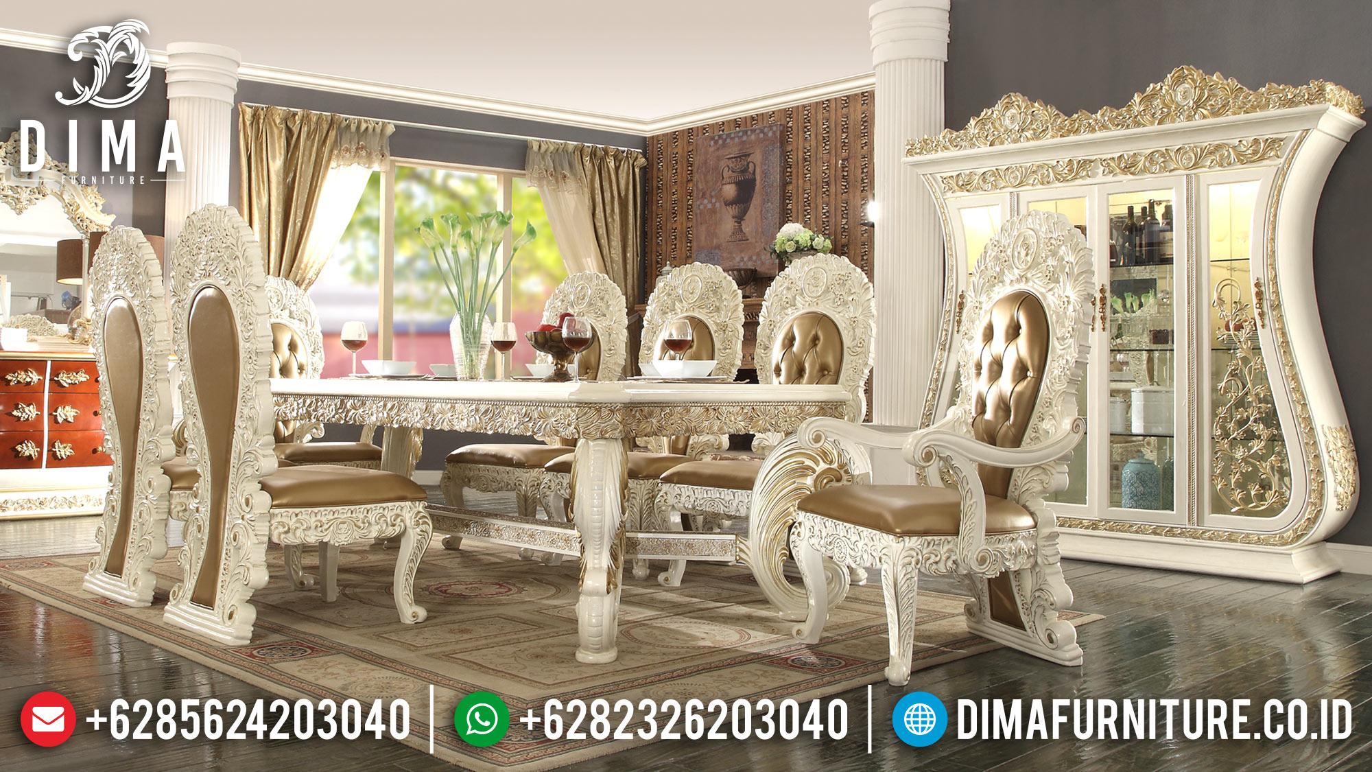 Meja Makan Mewah Jepara Terbaru 2018 01 Dima Furniture Jepara