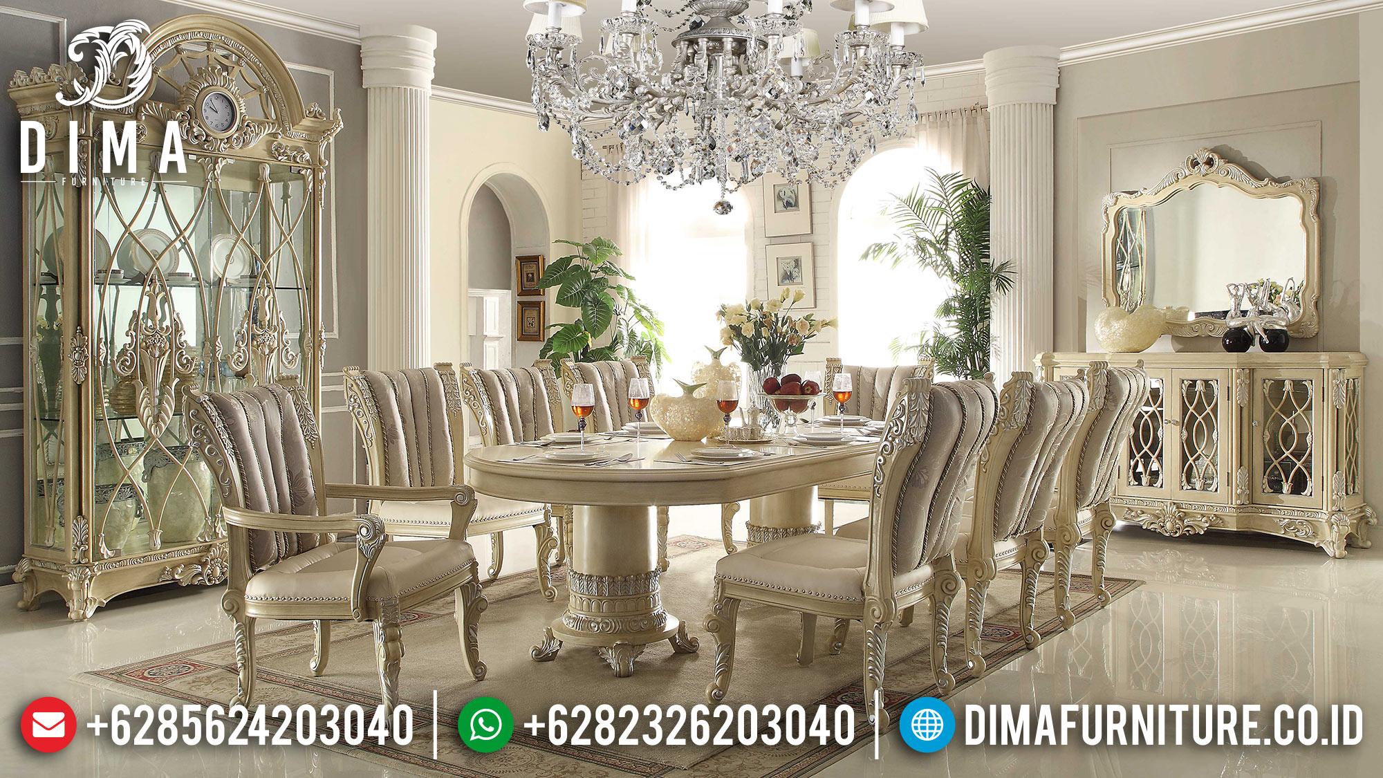 Meja Makan Mewah Jepara Terbaru 2018 07 Dima Furniture Jepara
