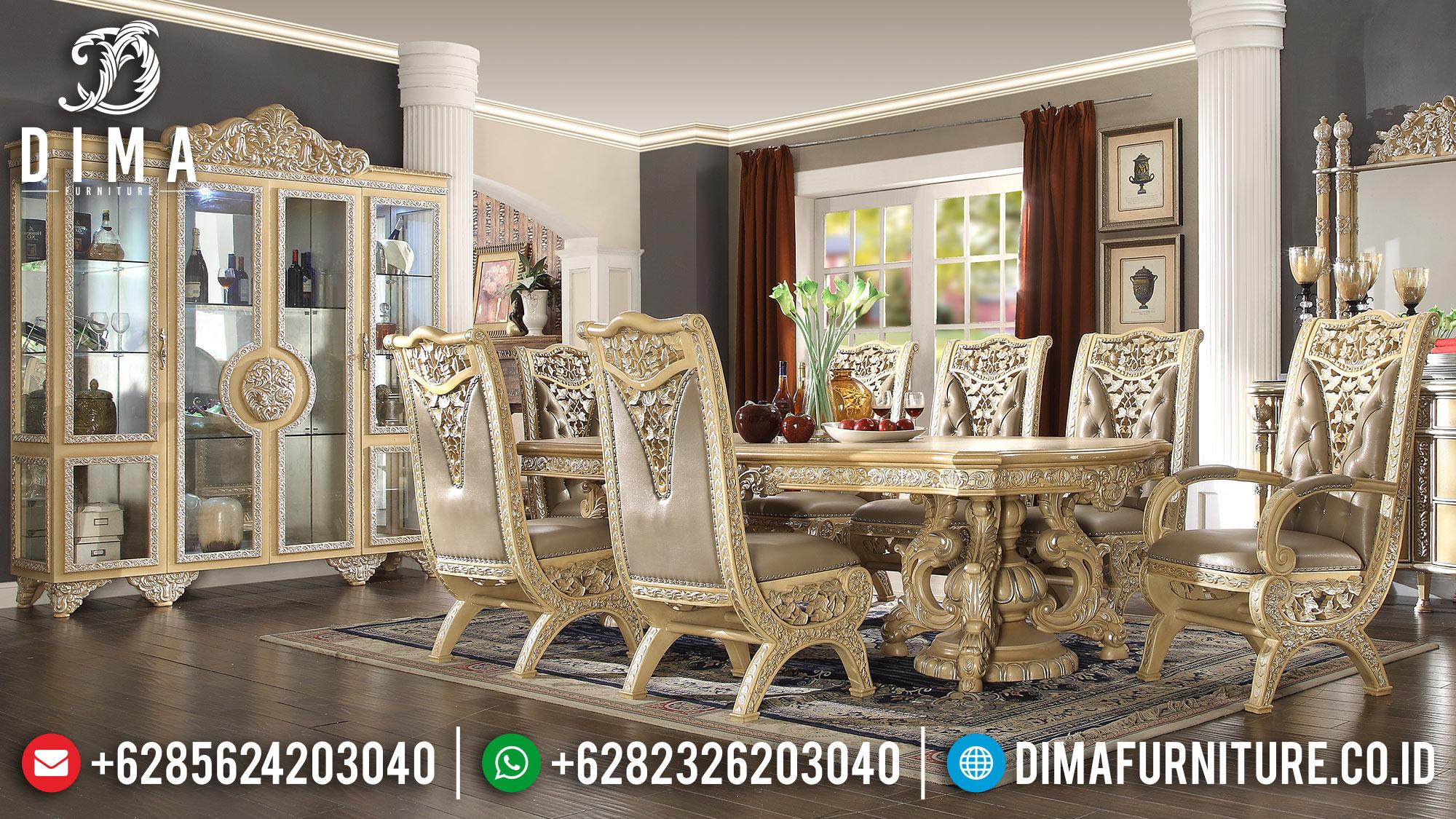 Meja Makan Mewah Jepara Terbaru 2018 16 Dima Furniture Jepara