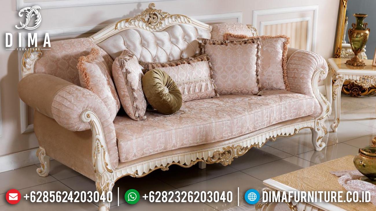 Sofa Tamu Mewah, Kursi Tamu Ukiran Klasik, Mebel Jepara Mewah Terbaru DF-0494 Gambar 2