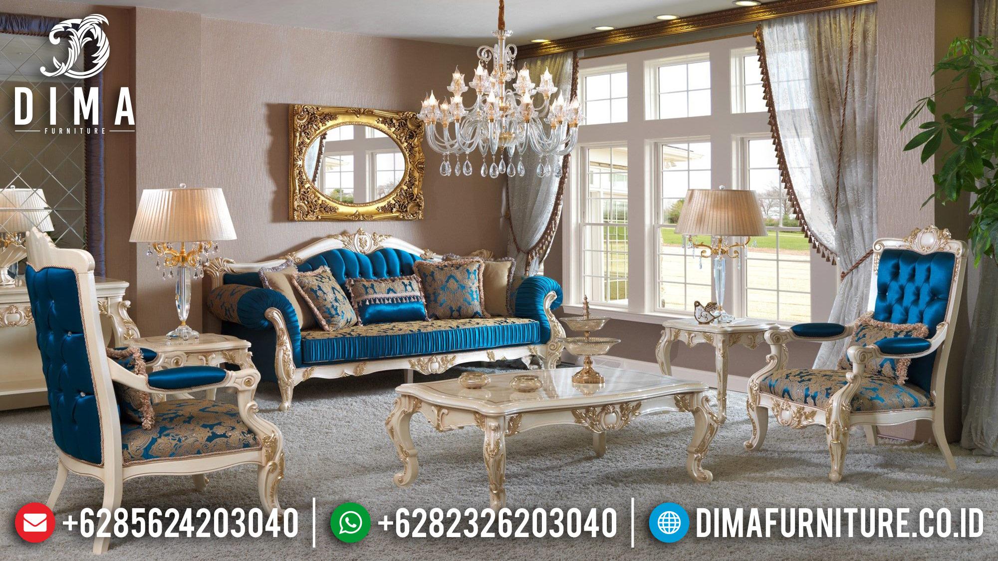 Model Kursi Jepara Terbaru, Sofa Tamu Mewah Jepara, Sofa Ruang Tamu Jepara DF-0525
