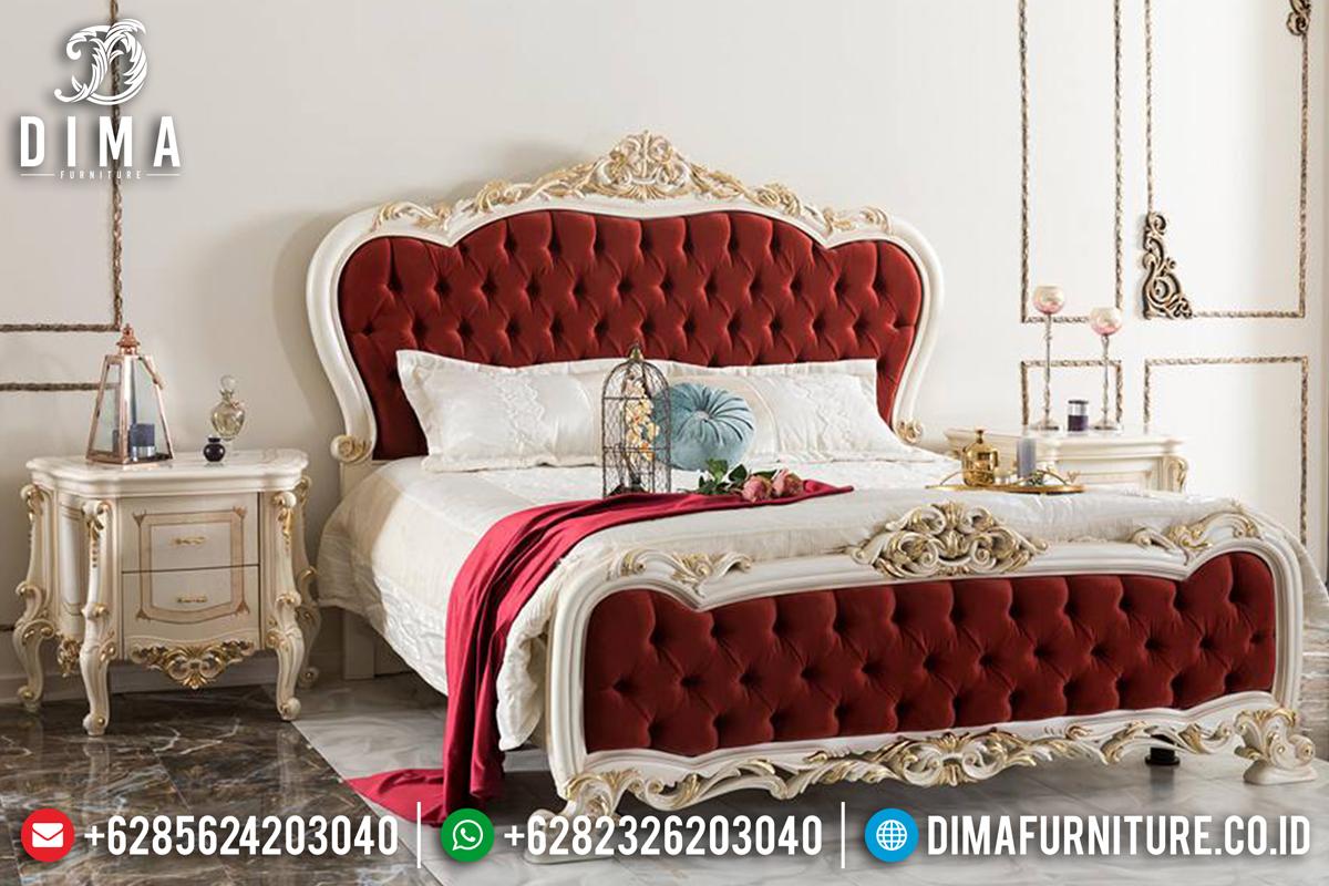 Set Kamar Tidur Jepara, Tempat Tidur Mewah, Kamar Set Terbaru Duco DF-0560