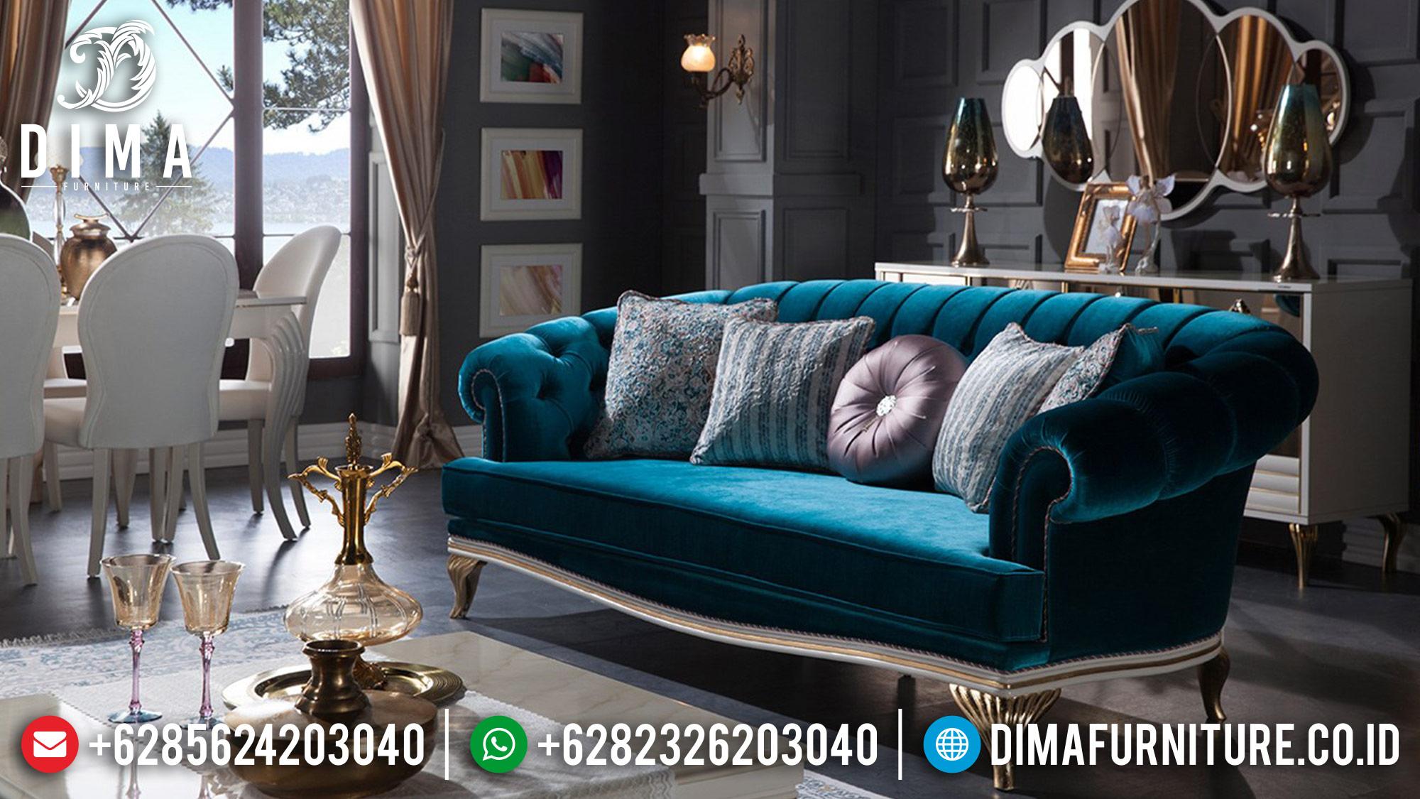 Mebel Jepara Terbaru Set Sofa Tamu Mewah Elite Koltuk DF-0567 Gambar 1