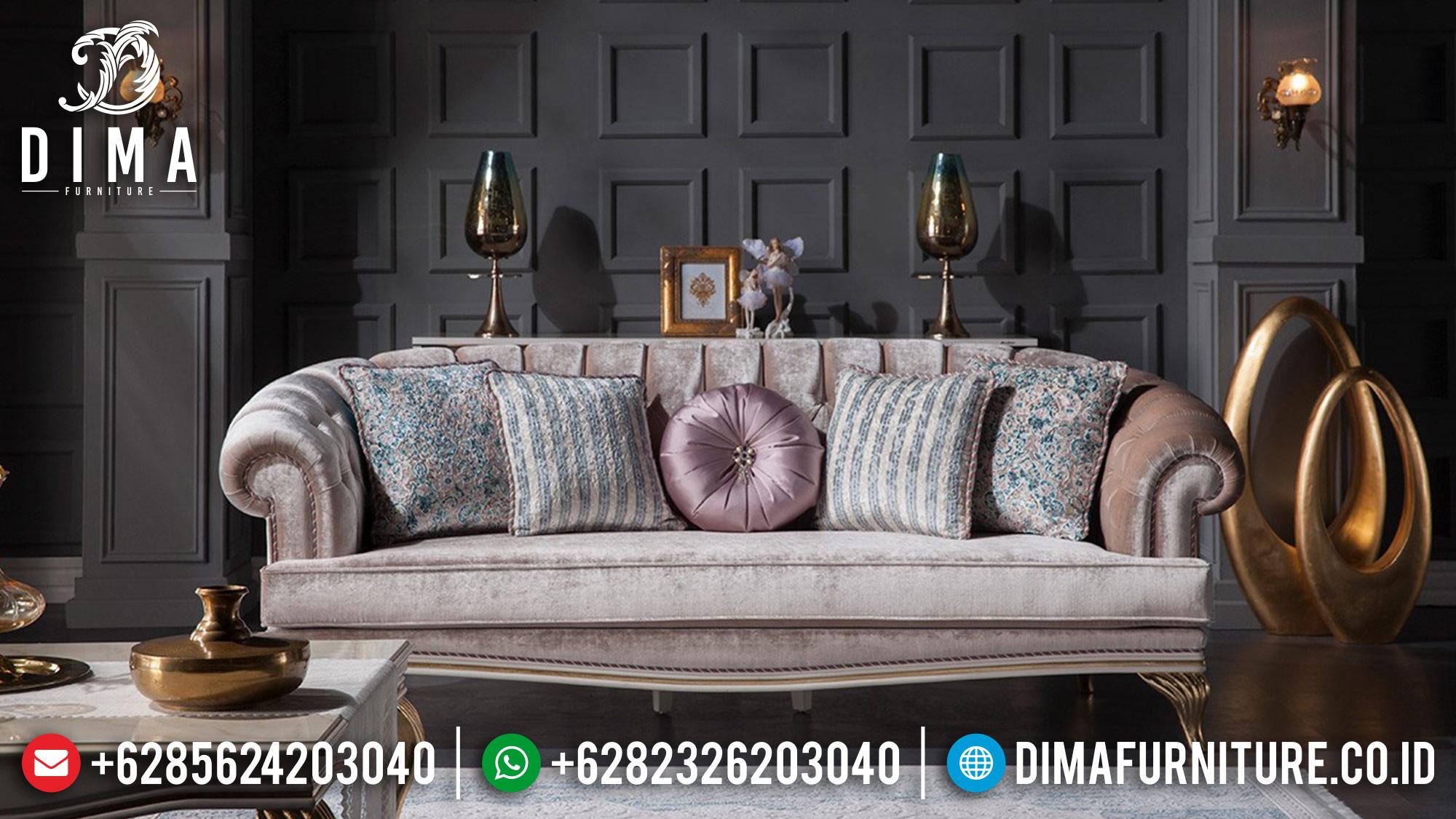 Mebel Jepara Terbaru Set Sofa Tamu Mewah Elite Koltuk DF-0567 Gambar 2