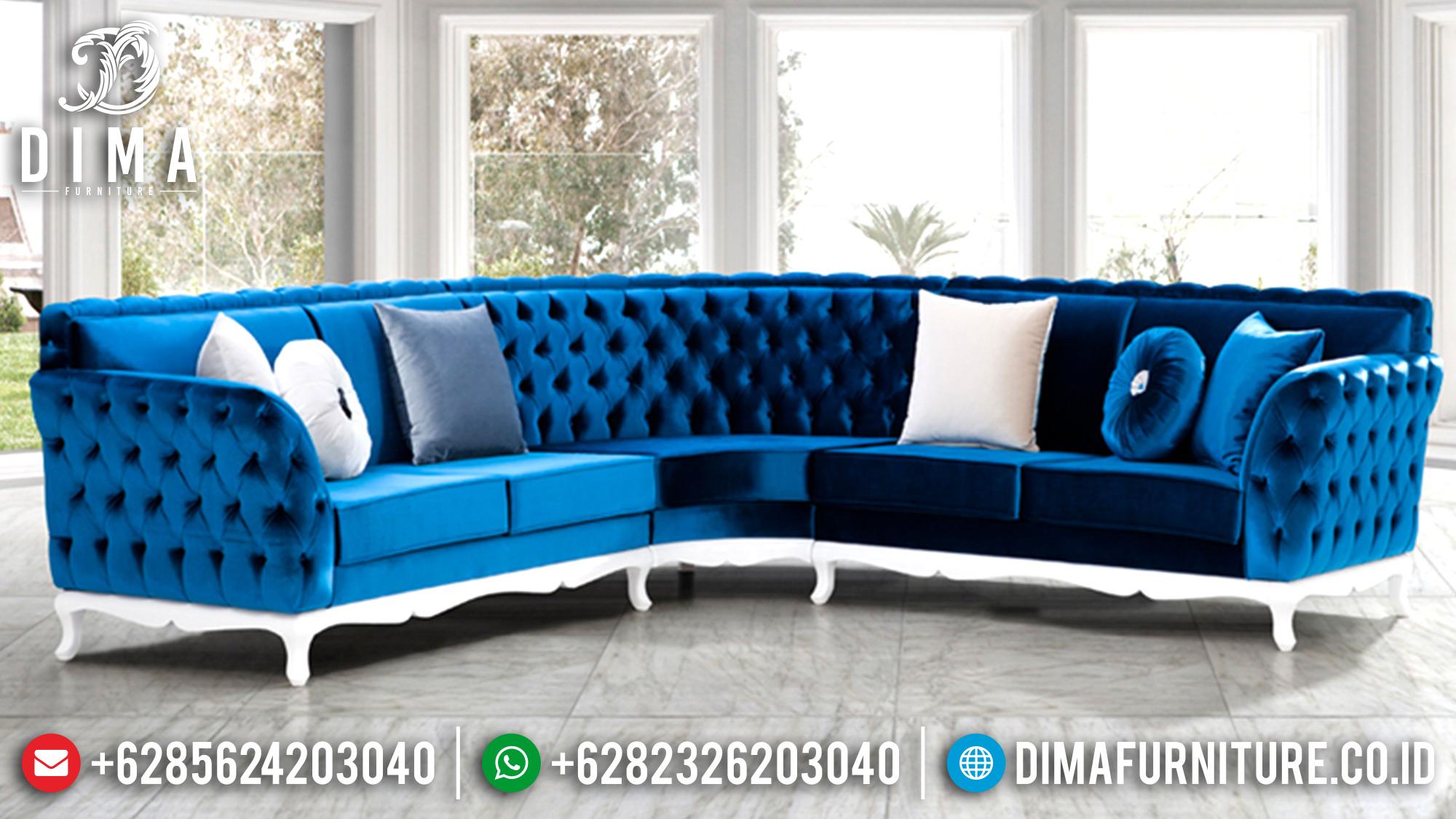 Sofa Tamu Mewah Minimalis Jepara Terbaru Diana Kose DF-0575