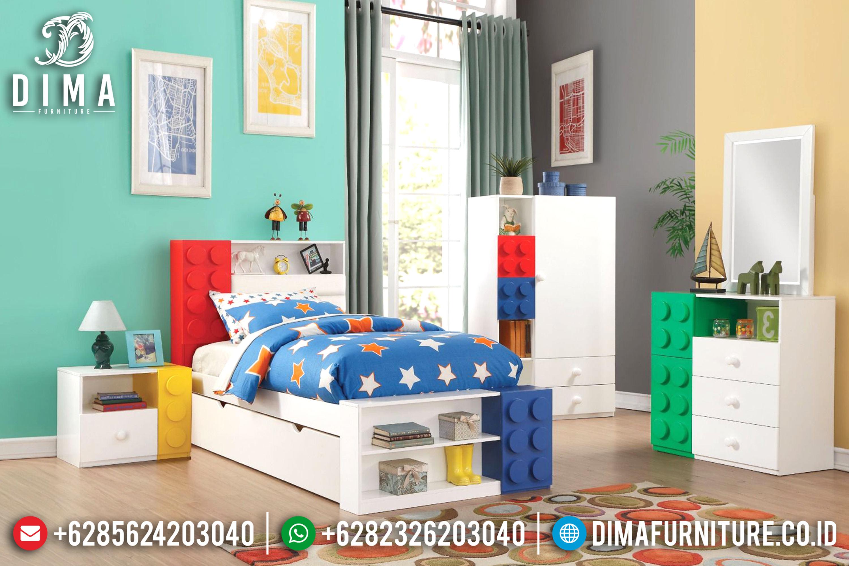 Tempat Tidur anak Minimalis, Mebel Jepara Terbaru, Mebel Kamar Anak DF-0613