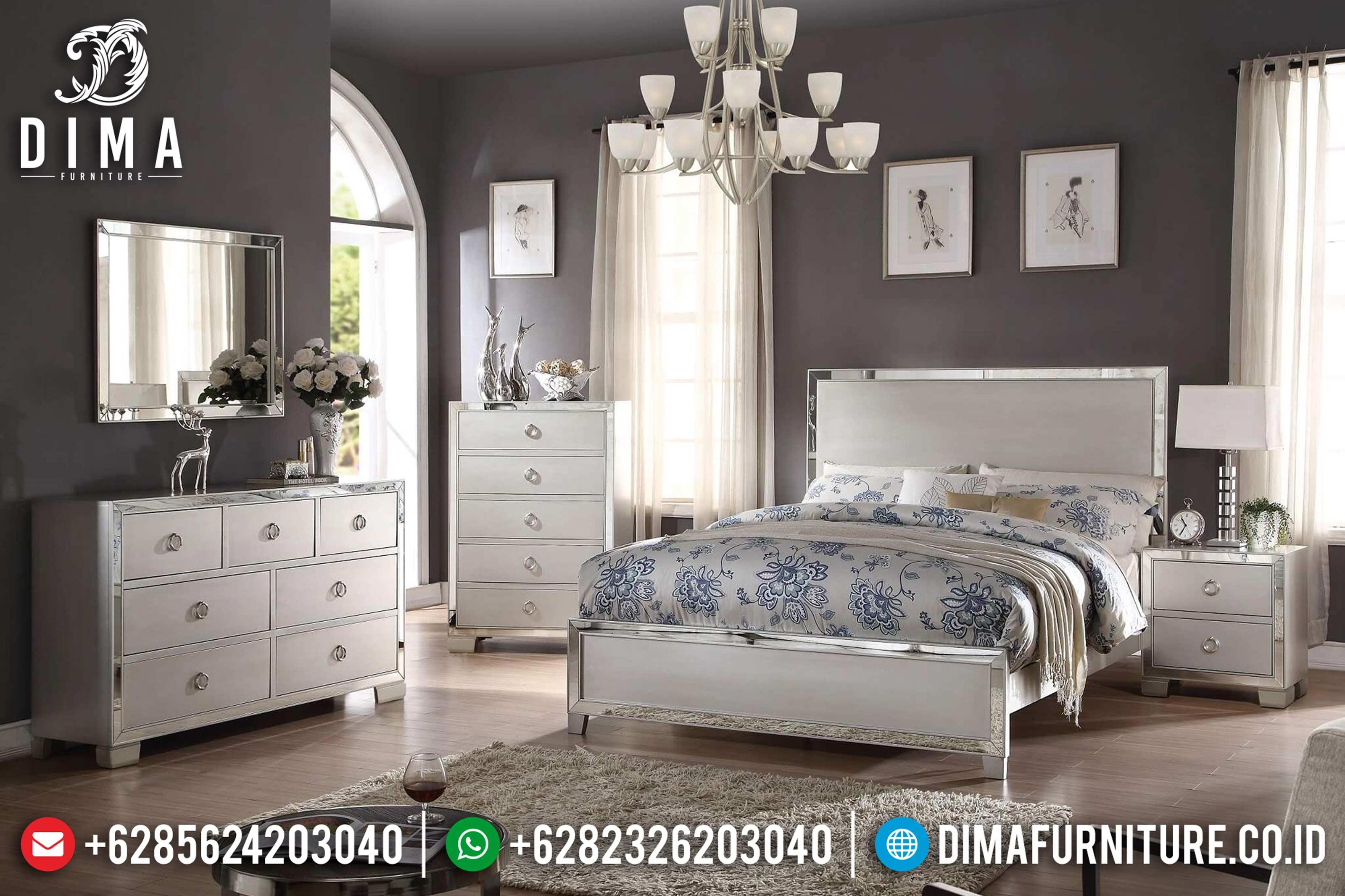 Platinum Bedroom Set Voeville Tempat Tidur Jepara Minimalis Mewah DF-0637
