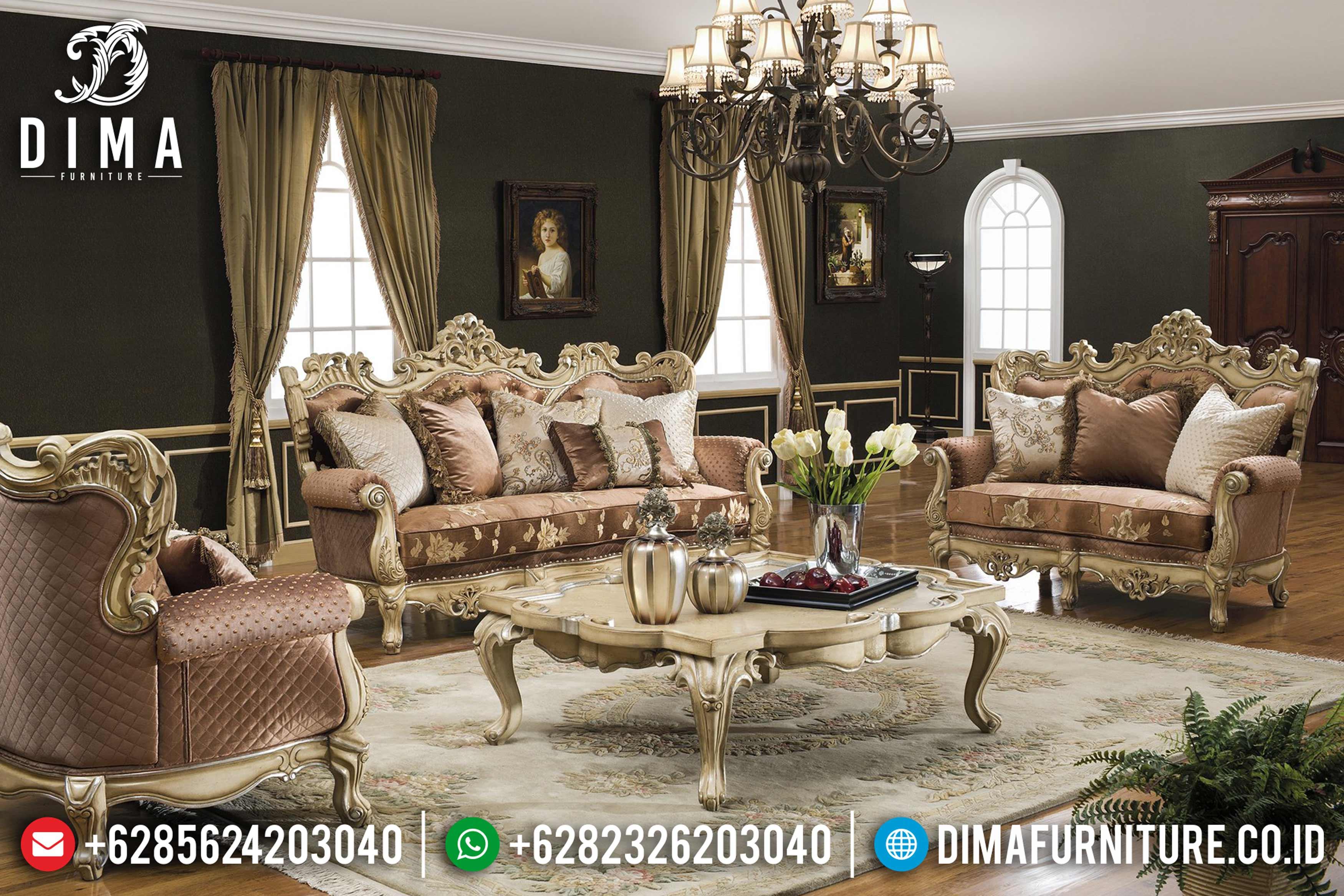 Sofa Tamu Jepara Mewah Classic Terbaru Caesar DF-0639