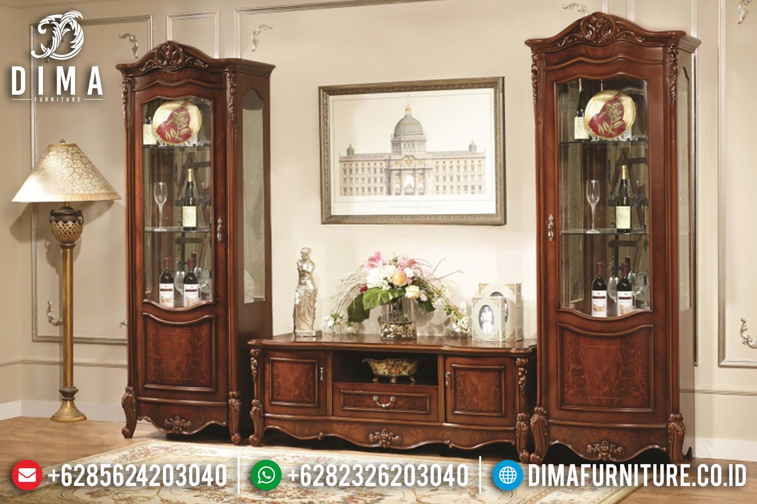 Furniture Jati Jepara Bufet TV Minimalis Mewah Terbaru Turkey DF-0675