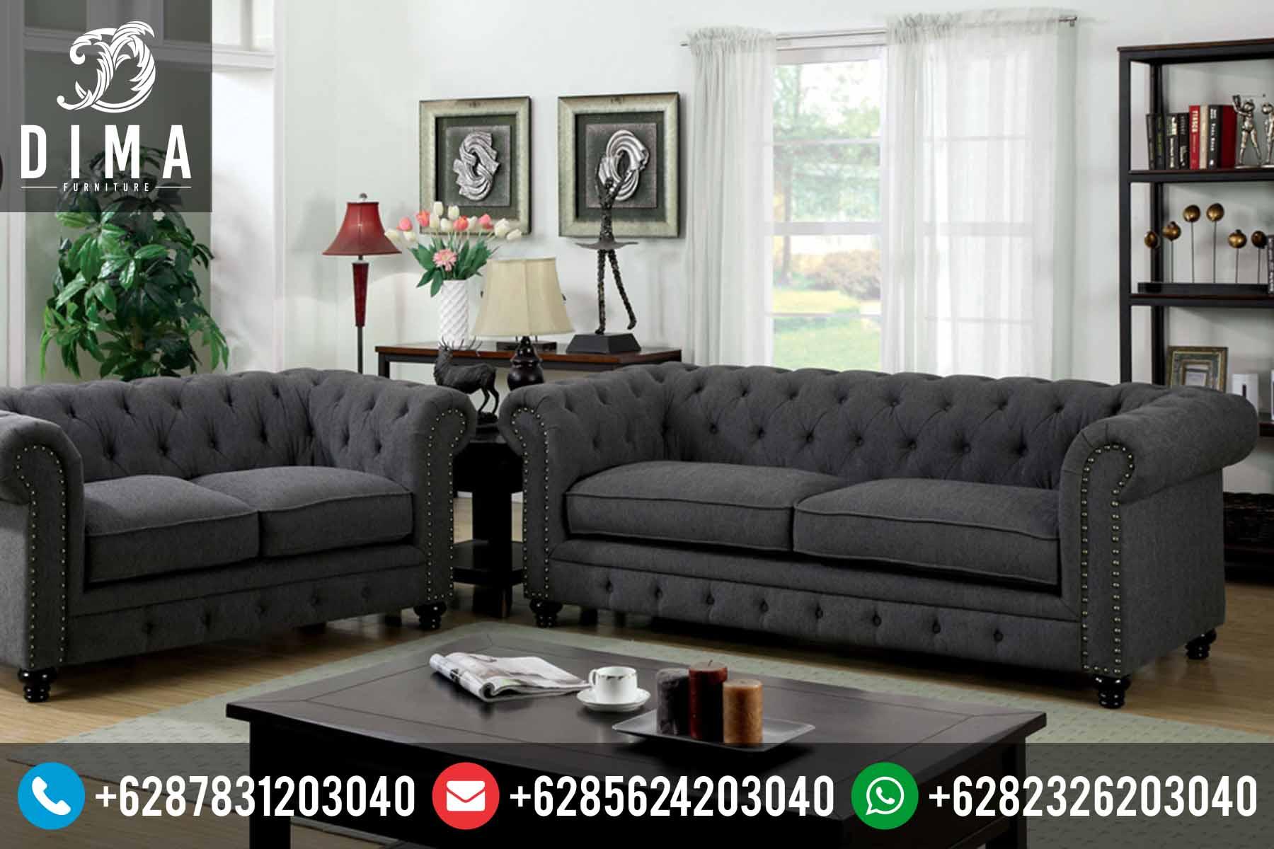 Kursi Sofa Tamu Minimalis Modern Terbaru Harga Termurah Jepara DF-0068