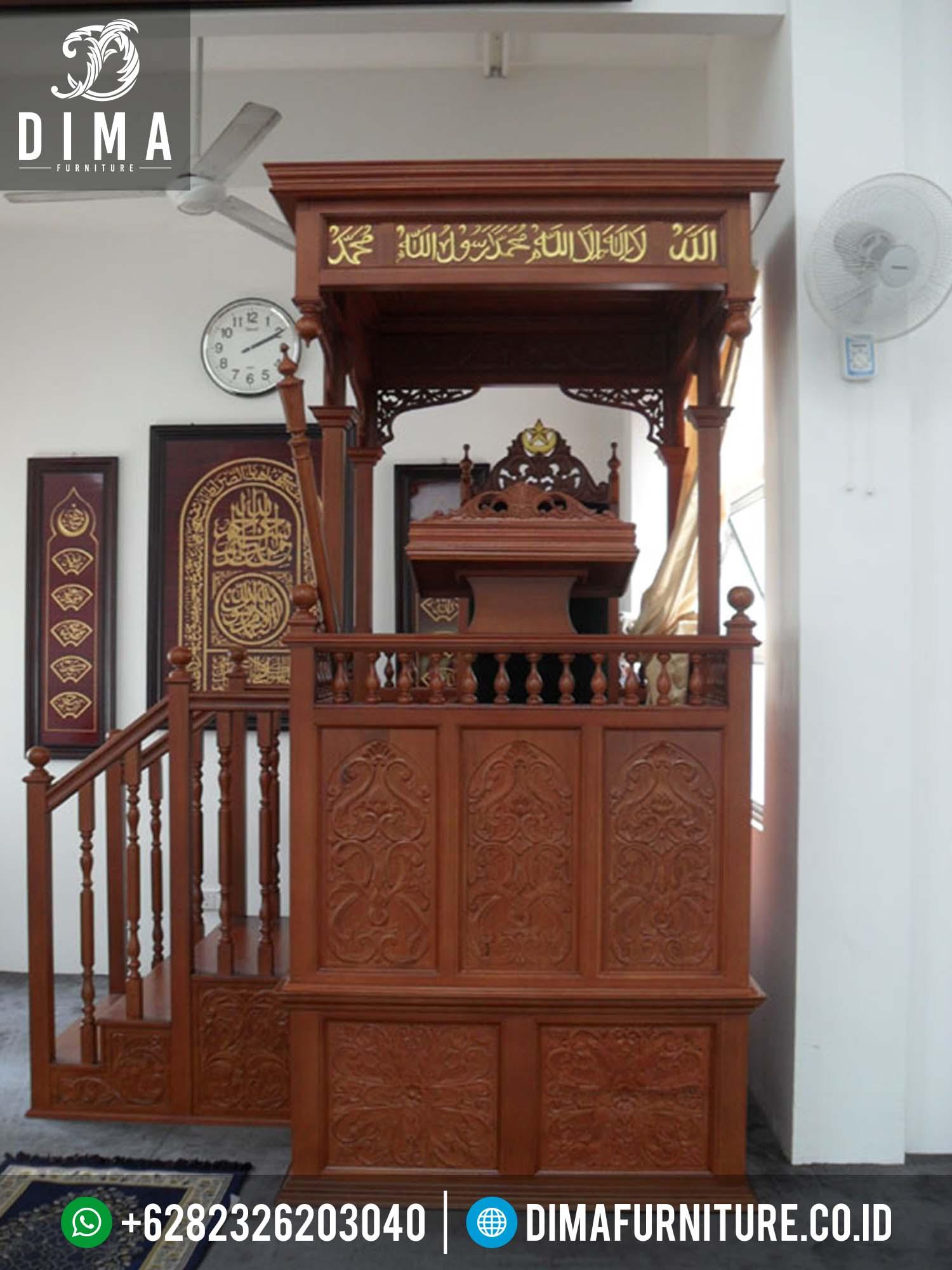Jual Mimbar Masjid Murah, Mimbar Podium Pidato Terbaru, Mimbar Presiden Minimalis Terbaru 2016, Mimbar Jati Jepara Murah, Mimbar Masjid Jati Murah DF-0092
