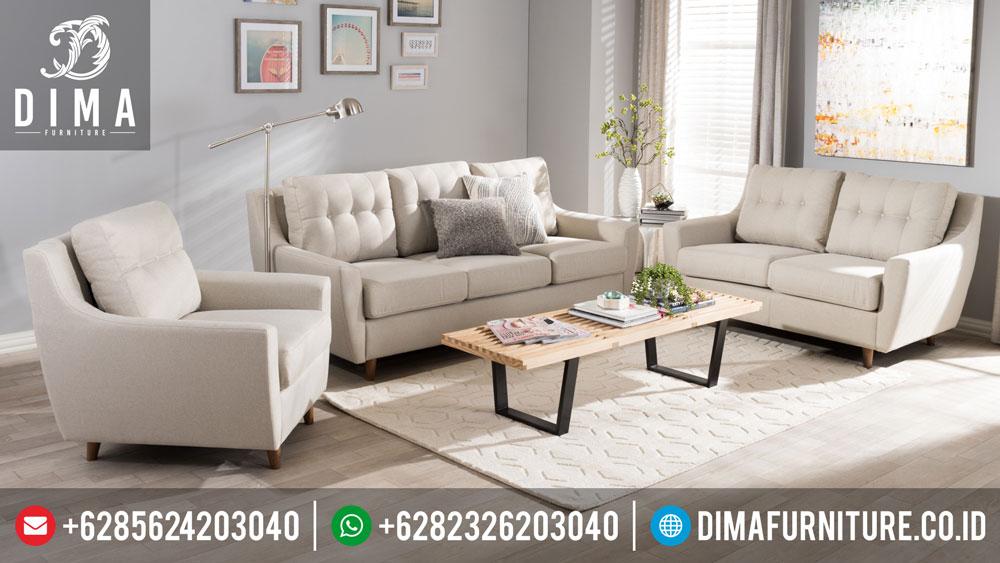 Set Sofa Tamu Minimalis Modern Mewah Terbaru Kanvas Df-0251
