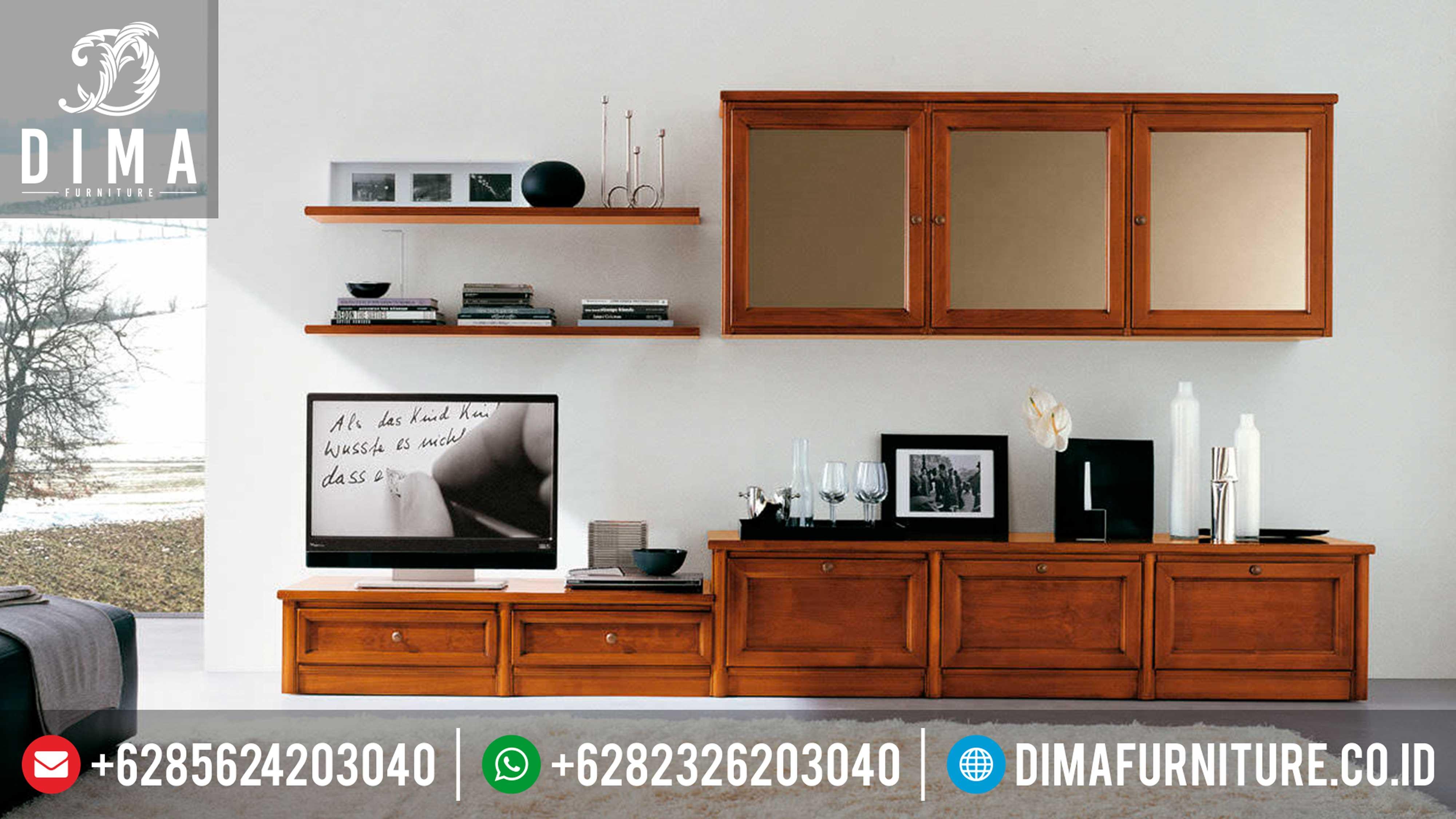 Bufet TV Jati Minimalis Modern Jepara Terbaru DF-0299