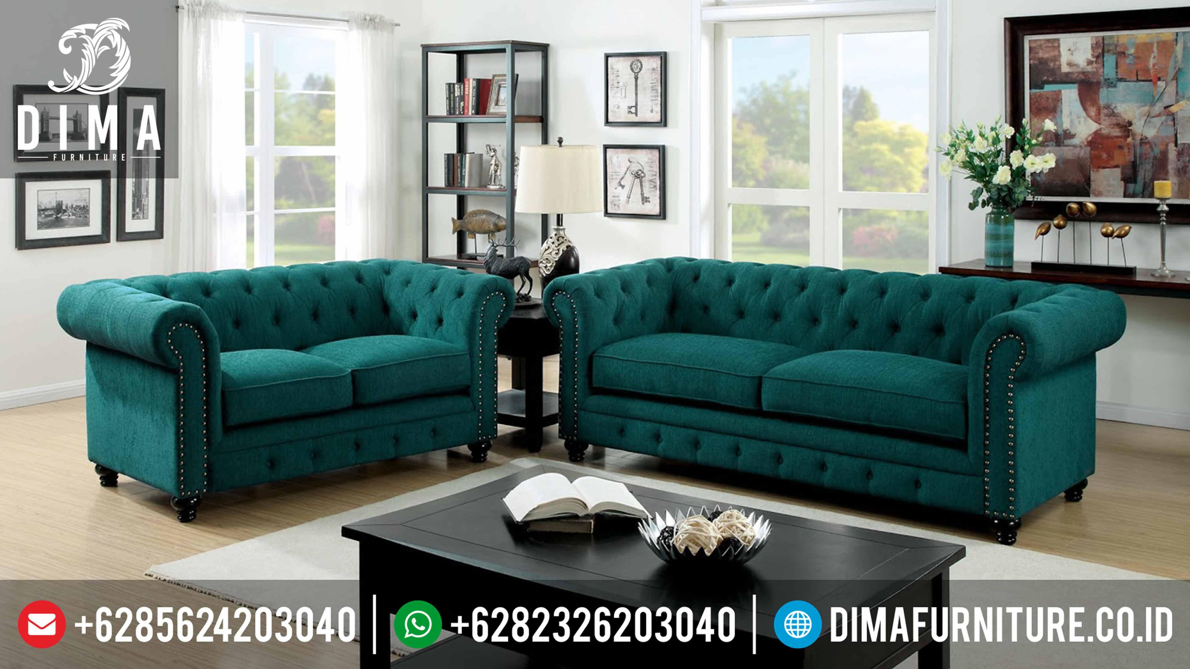 Sofa Tamu Minimalis Terbaru Vintage 2017 DF-0294