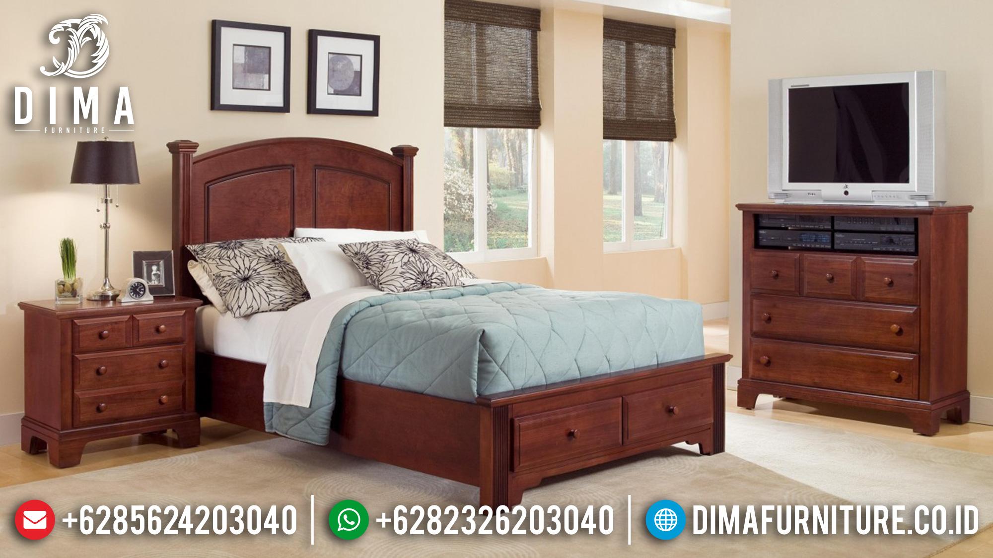 Tempat Tidur Anak Jati Jepara Set Minimalis Modern Terbaru DF-0345