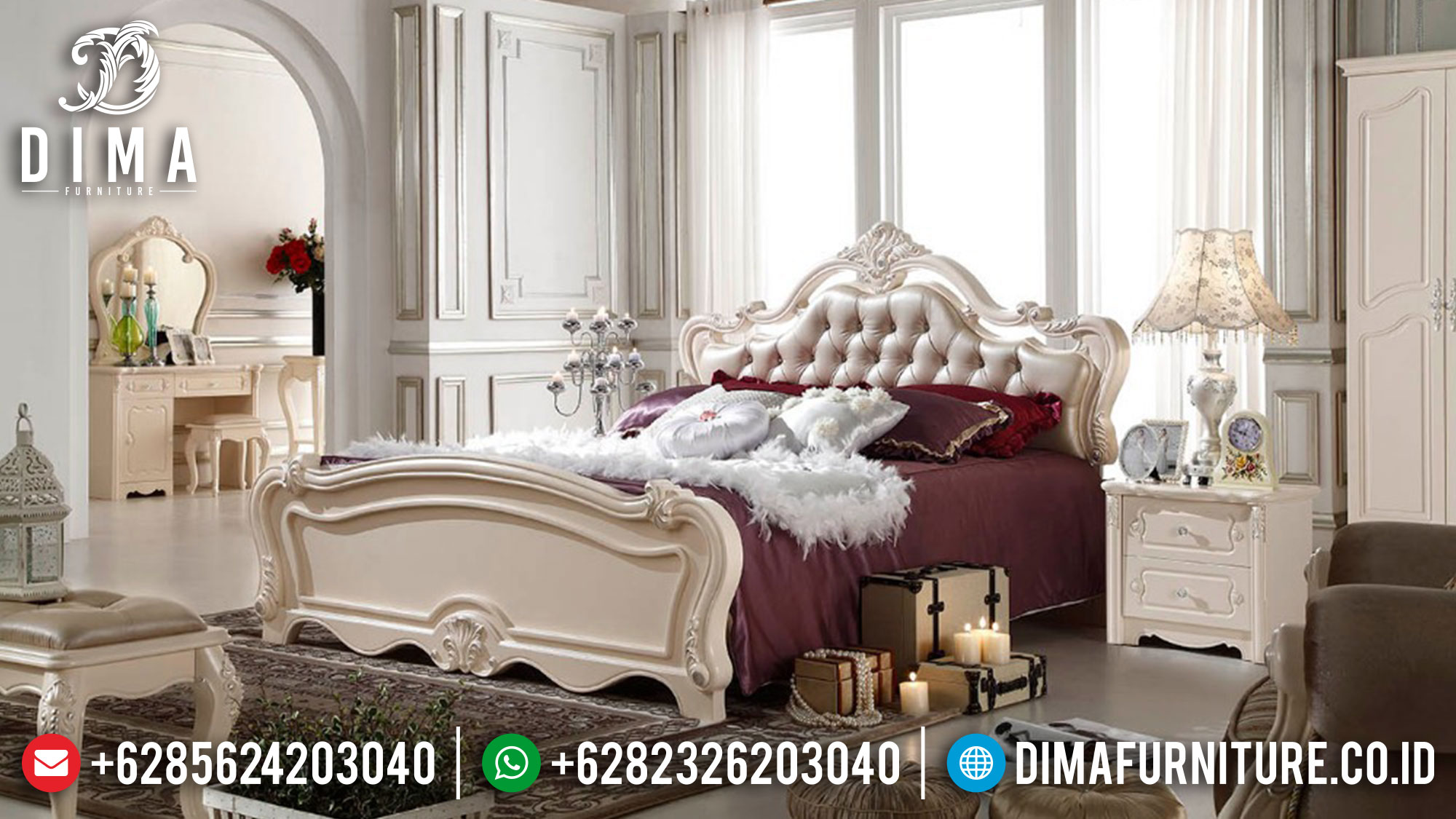 Kamar Set Mewah Klasik Mebel Jepara Terbaru DF-0337