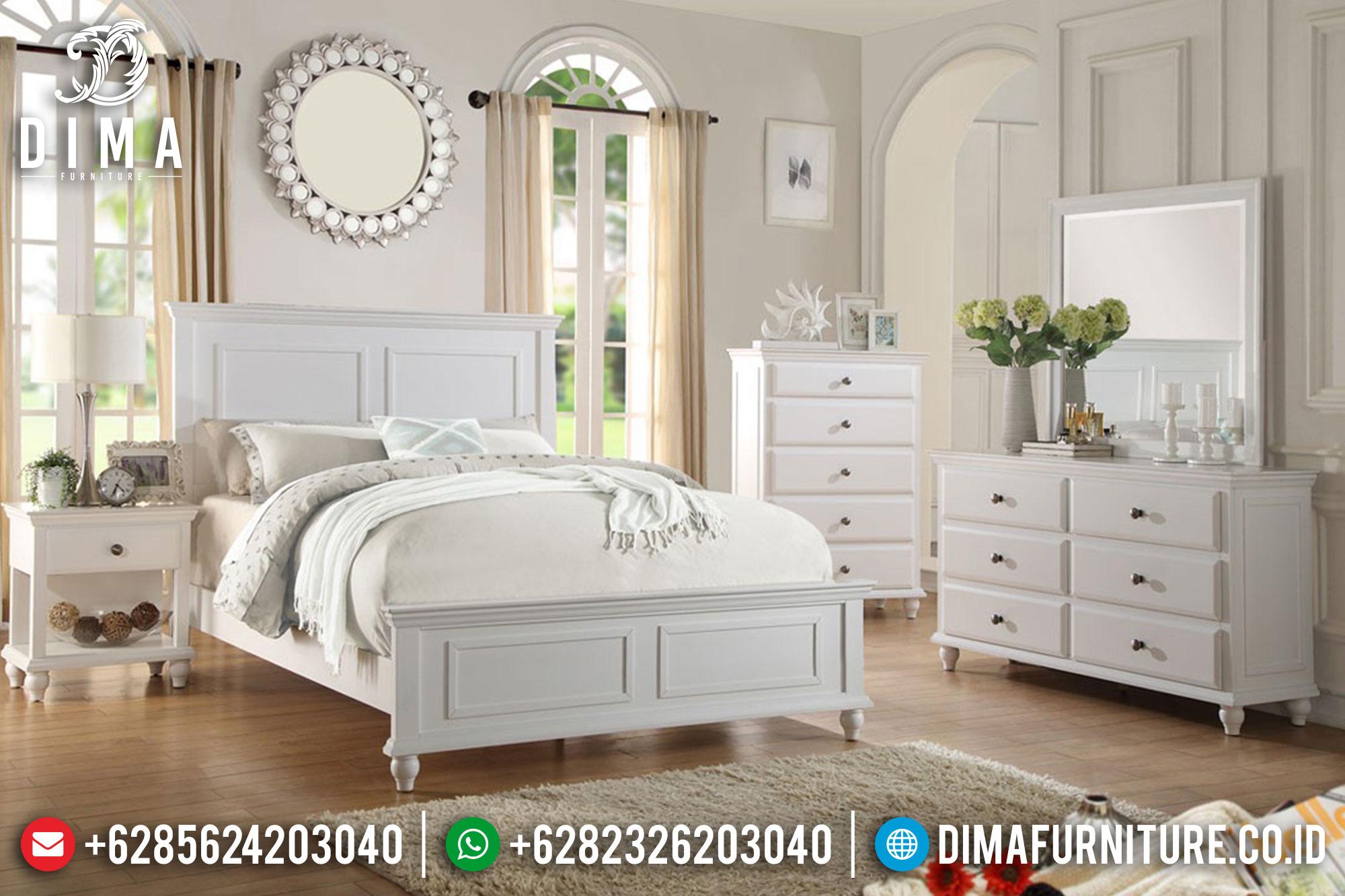 Beli Mebel Jepara Set Kamar Tidur Minimalis Shabby Mewah Terbaru DF-0357