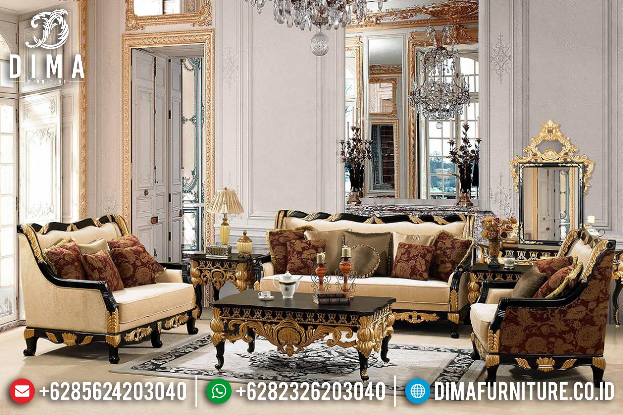 Sofa Tamu Jepara Mewah Minimalis Terbaru 21 Dima Furniture Jepara