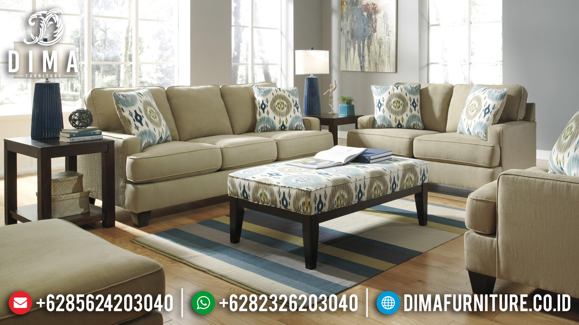 Sofa Tamu Jepara Mewah Minimalis Terbaru 22 Dima Furniture Jepara