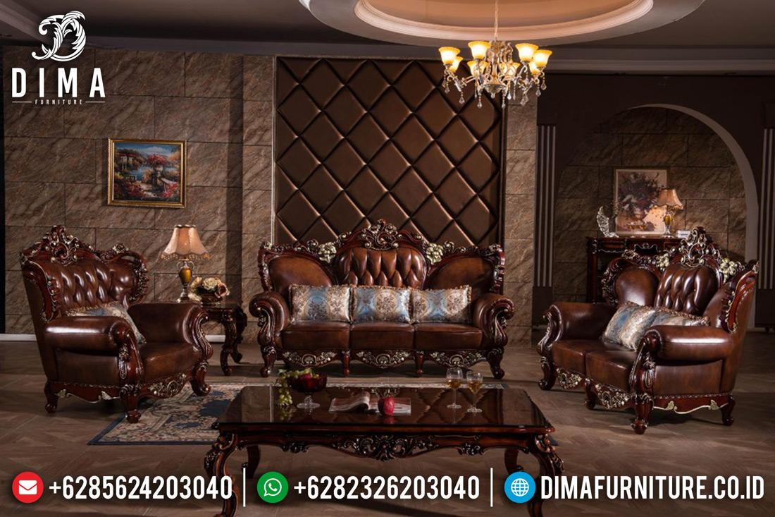 Kursi Sofa Tamu Jati Jepara Luxury Mewah Terbaru Ukiran Klasik DF-0420