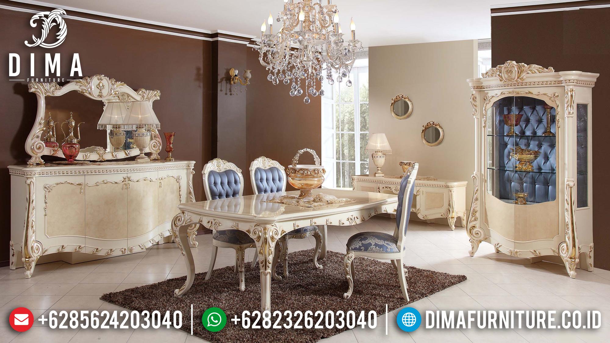 Meja Makan Mewah Jepara Terbaru 2018 05 Dima Furniture Jepara