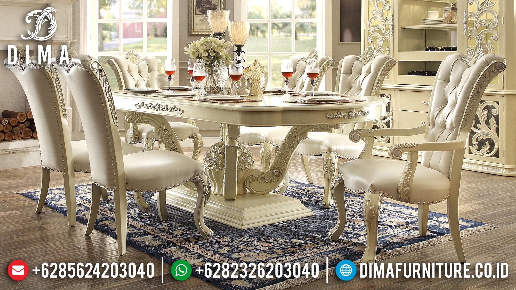 Meja Makan Mewah Jepara Terbaru 2018 13 Dima Furniture Jepara